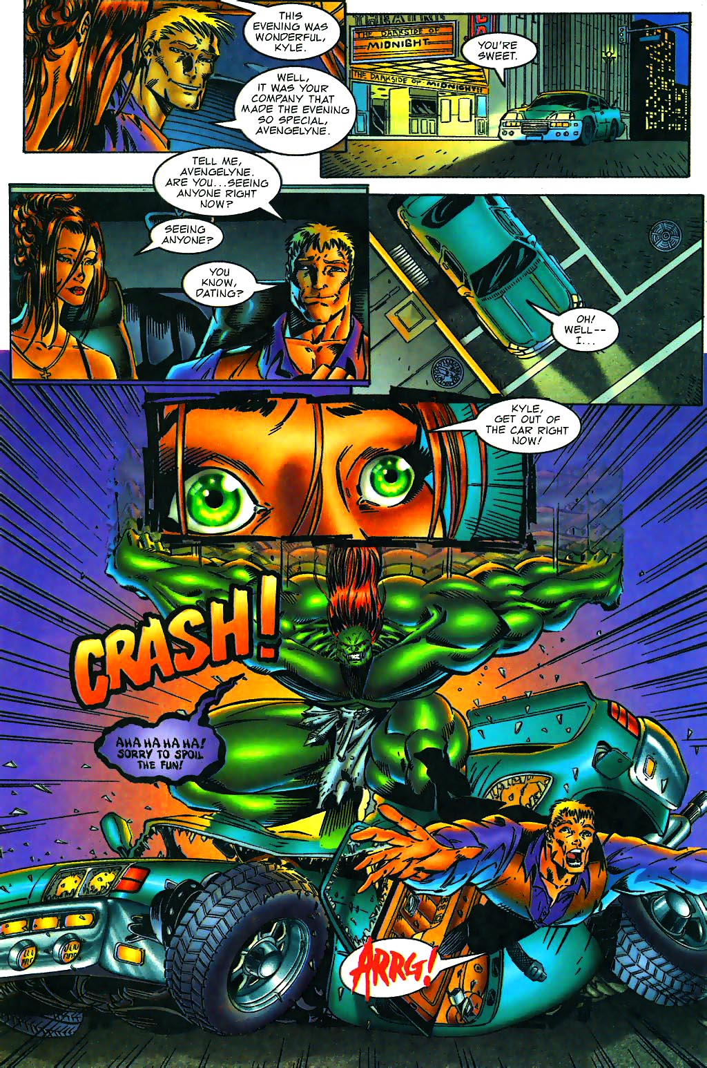 Read online Avengelyne (1996) comic -  Issue #1 - 21