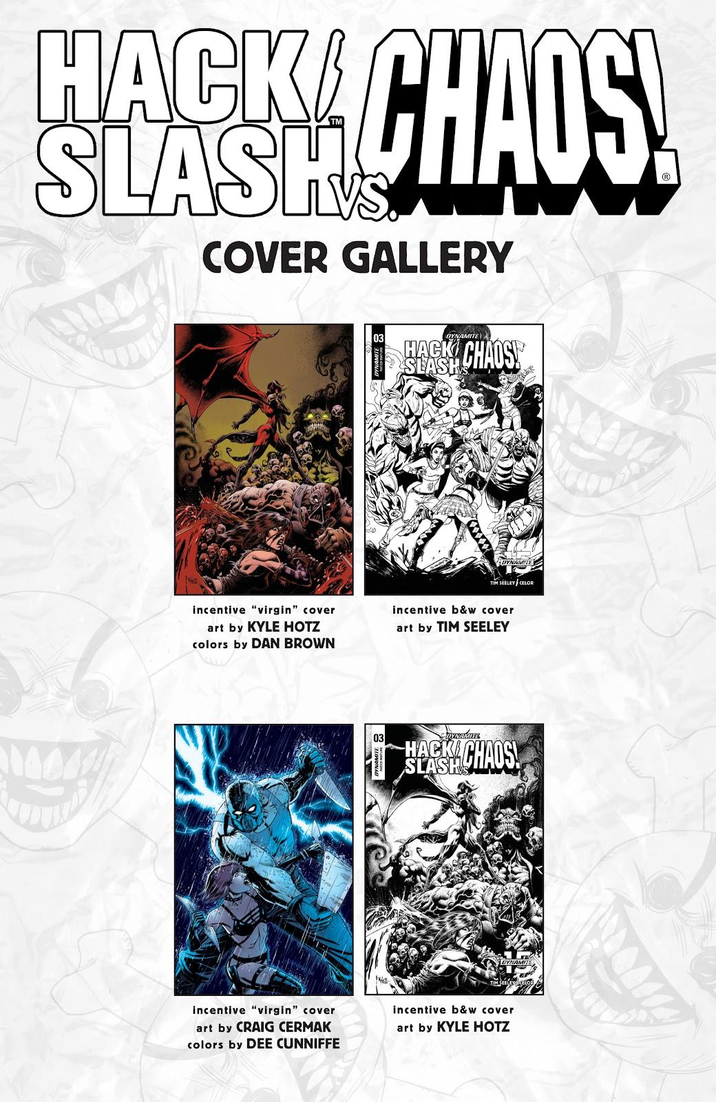 Read online Hack/Slash vs. Chaos comic -  Issue #3 - 28