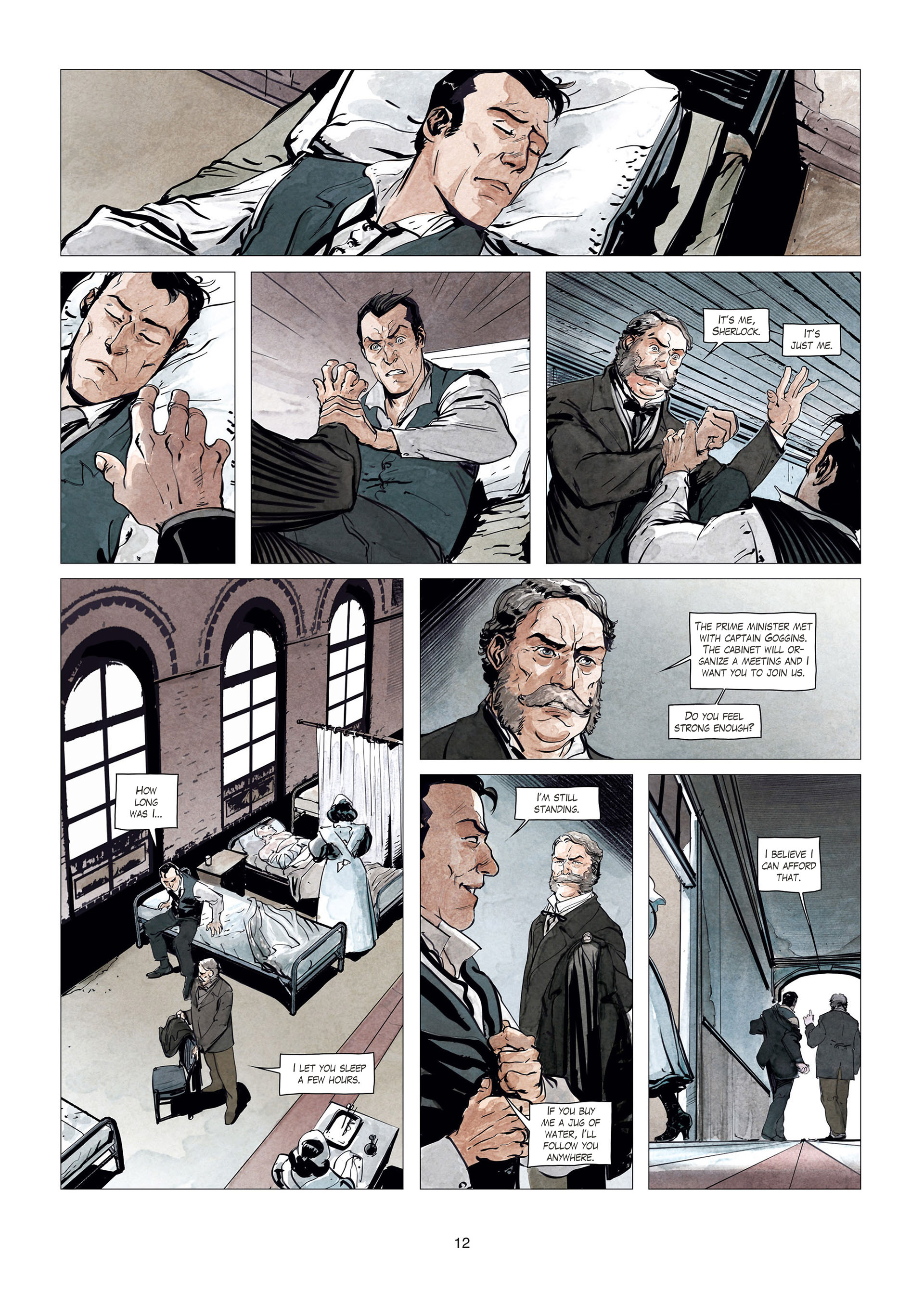 Read online Sherlock Holmes Society Tome 4 : Contamination comic -  Issue # Full - 12