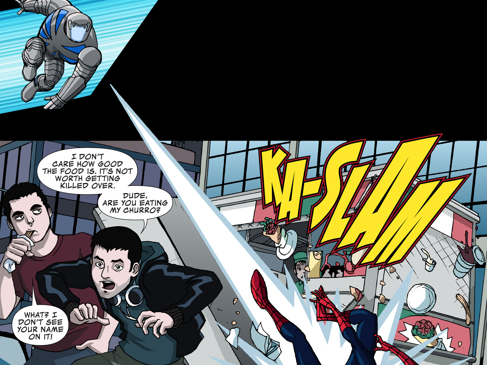 Read online Ultimate Spider-Man (Infinite Comics) (2015) comic -  Issue #3 - 31