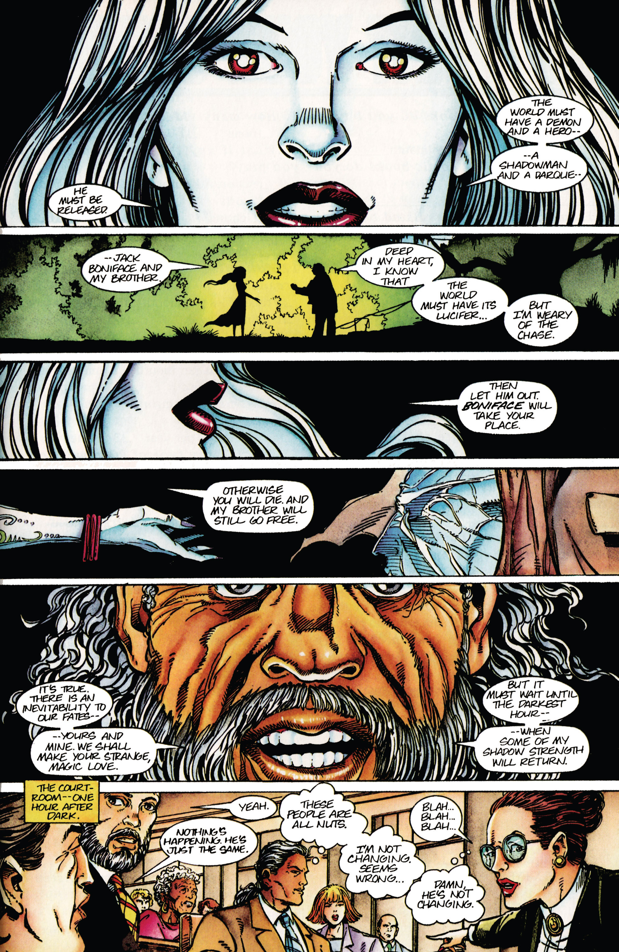Read online Shadowman (1992) comic -  Issue #42 - 14