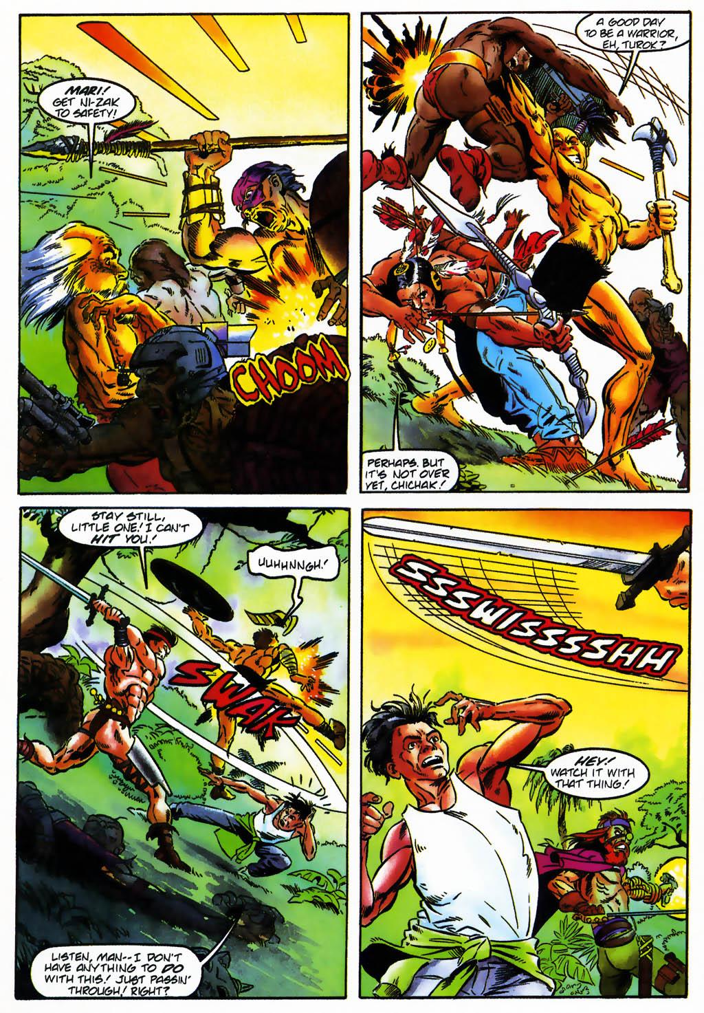 Read online Turok, Dinosaur Hunter (1993) comic -  Issue #26 - 8