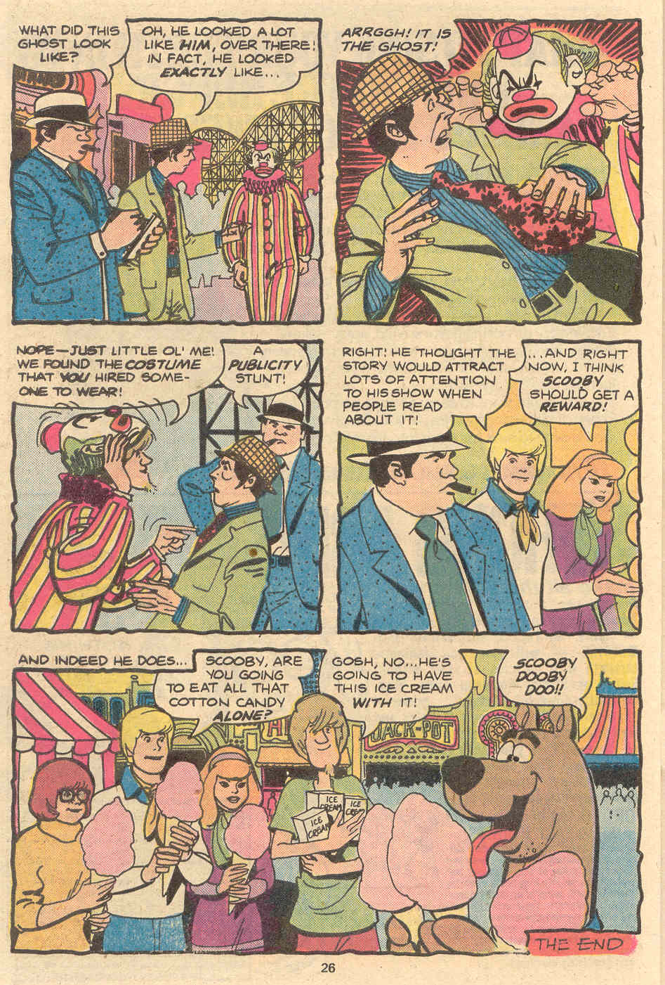Read online Scooby-Doo (1977) comic -  Issue #2 - 17