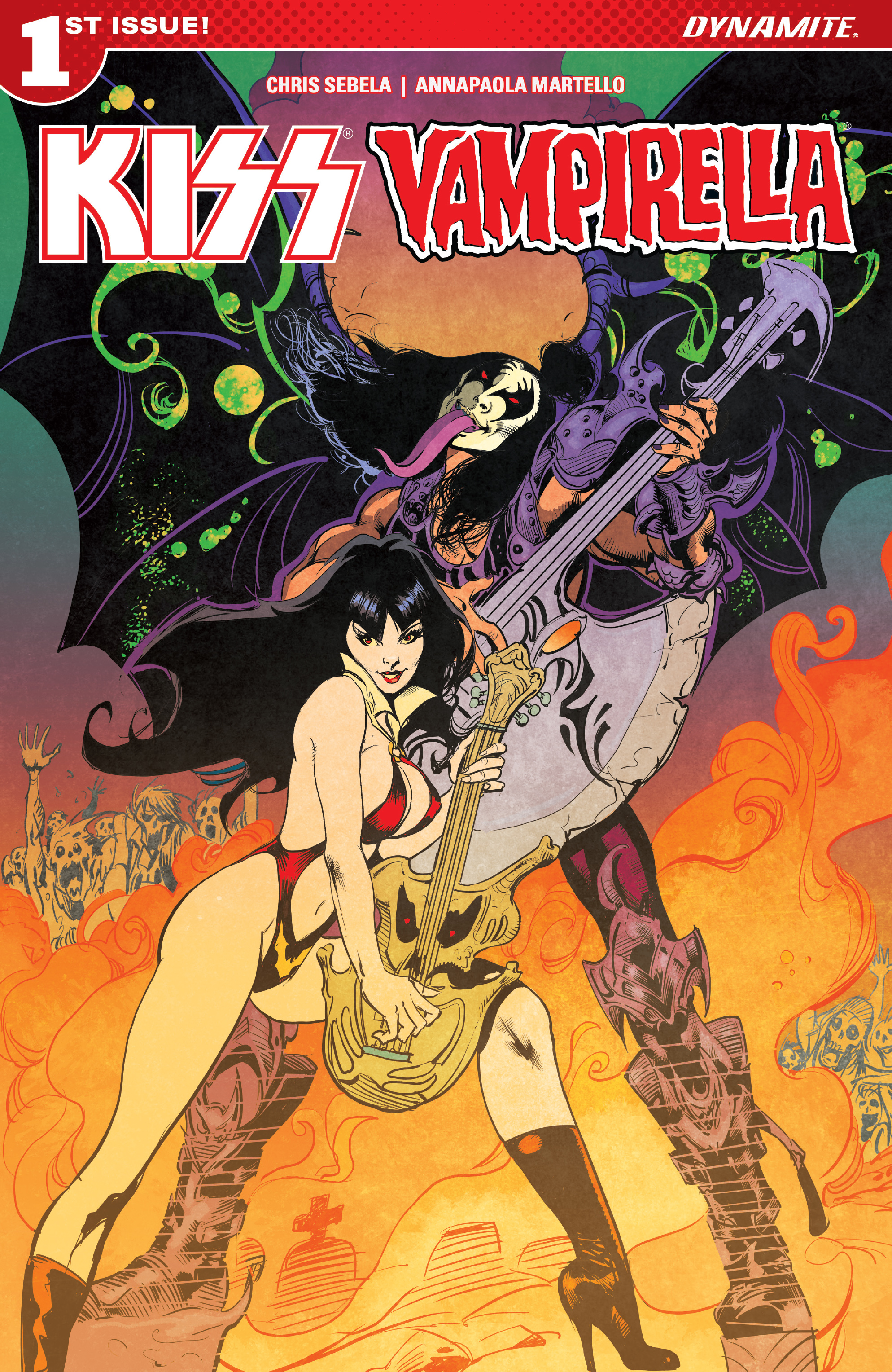 Read online Kiss/Vampirella comic -  Issue #1 - 3