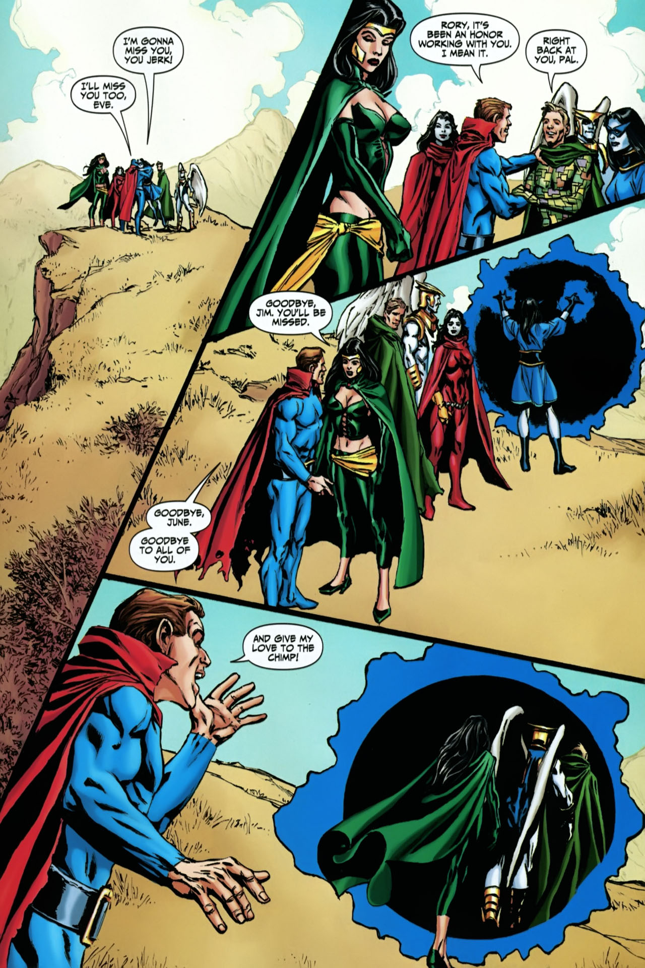 Read online Shadowpact comic -  Issue #22 - 21