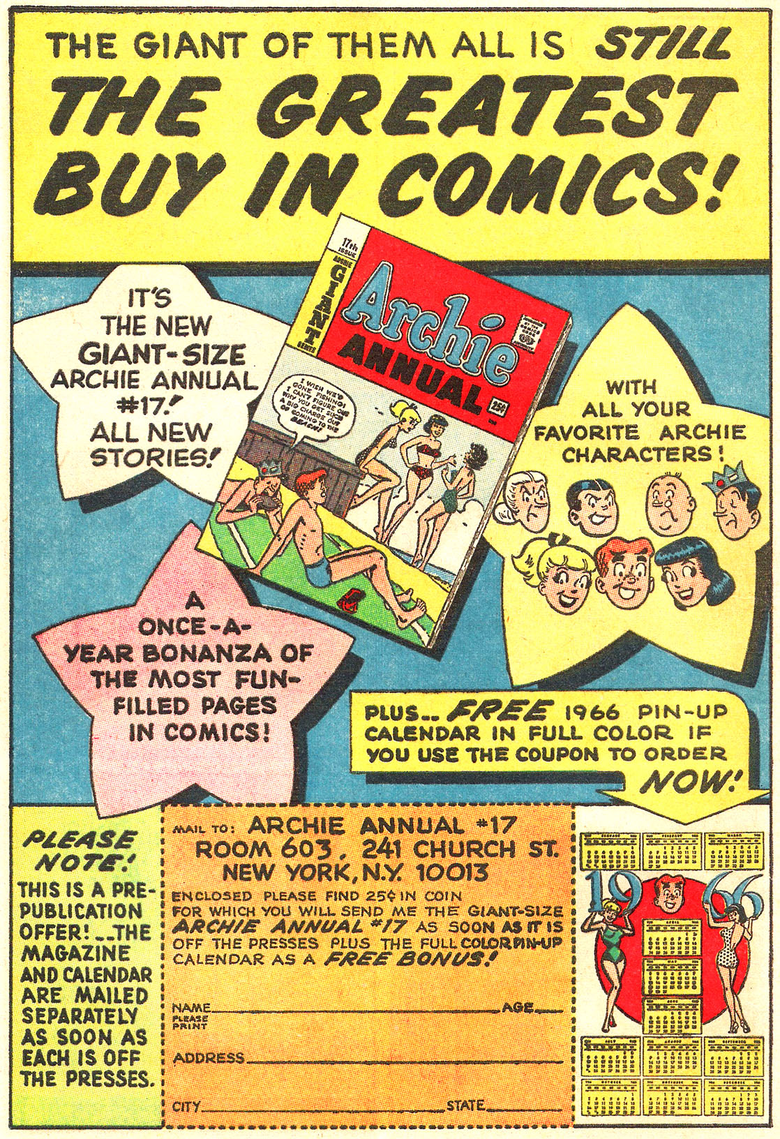 Read online Archie (1960) comic -  Issue #157 - 16