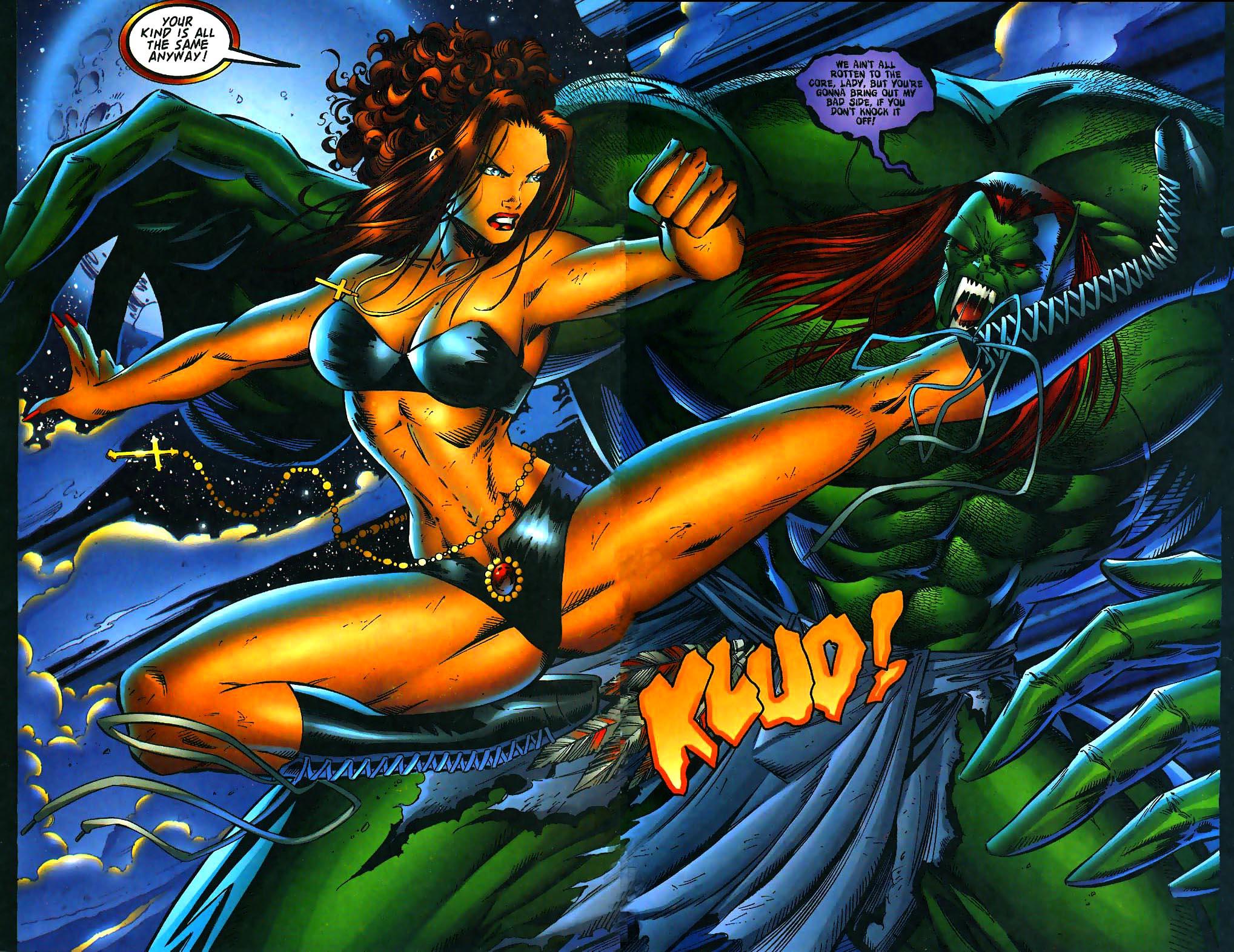 Read online Avengelyne (1996) comic -  Issue #1 - 23