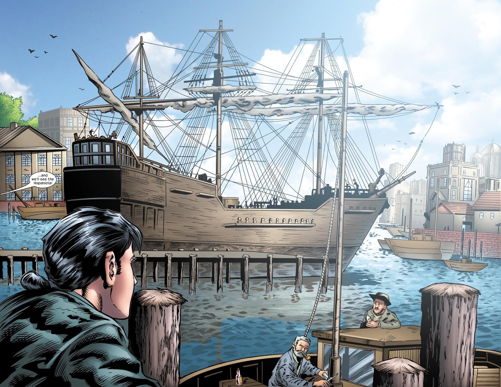 Read online Treasure Island comic -  Issue #2 - 15