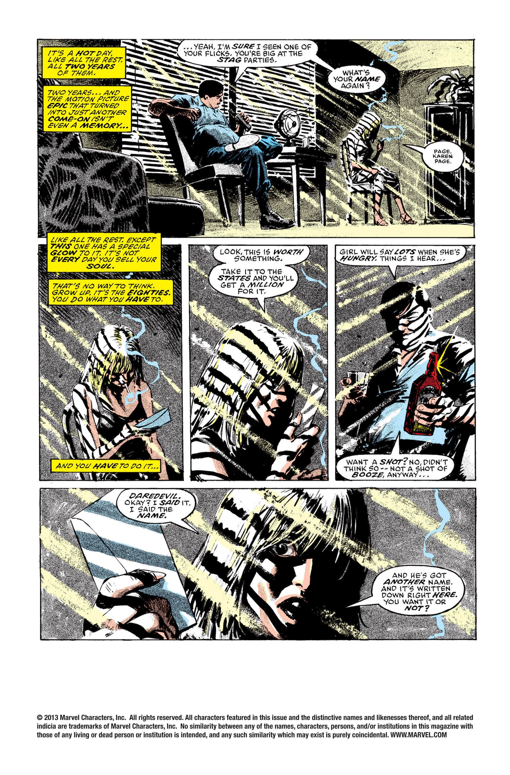 Read online Daredevil: Born Again comic -  Issue # Full - 29
