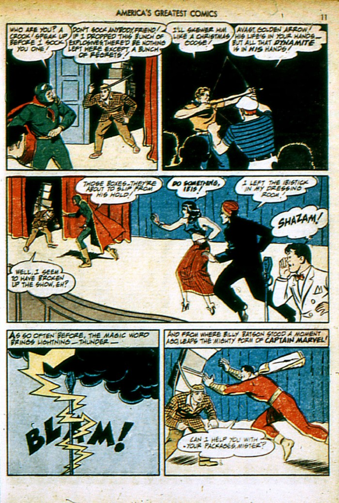 Read online America's Greatest Comics comic -  Issue #4 - 11