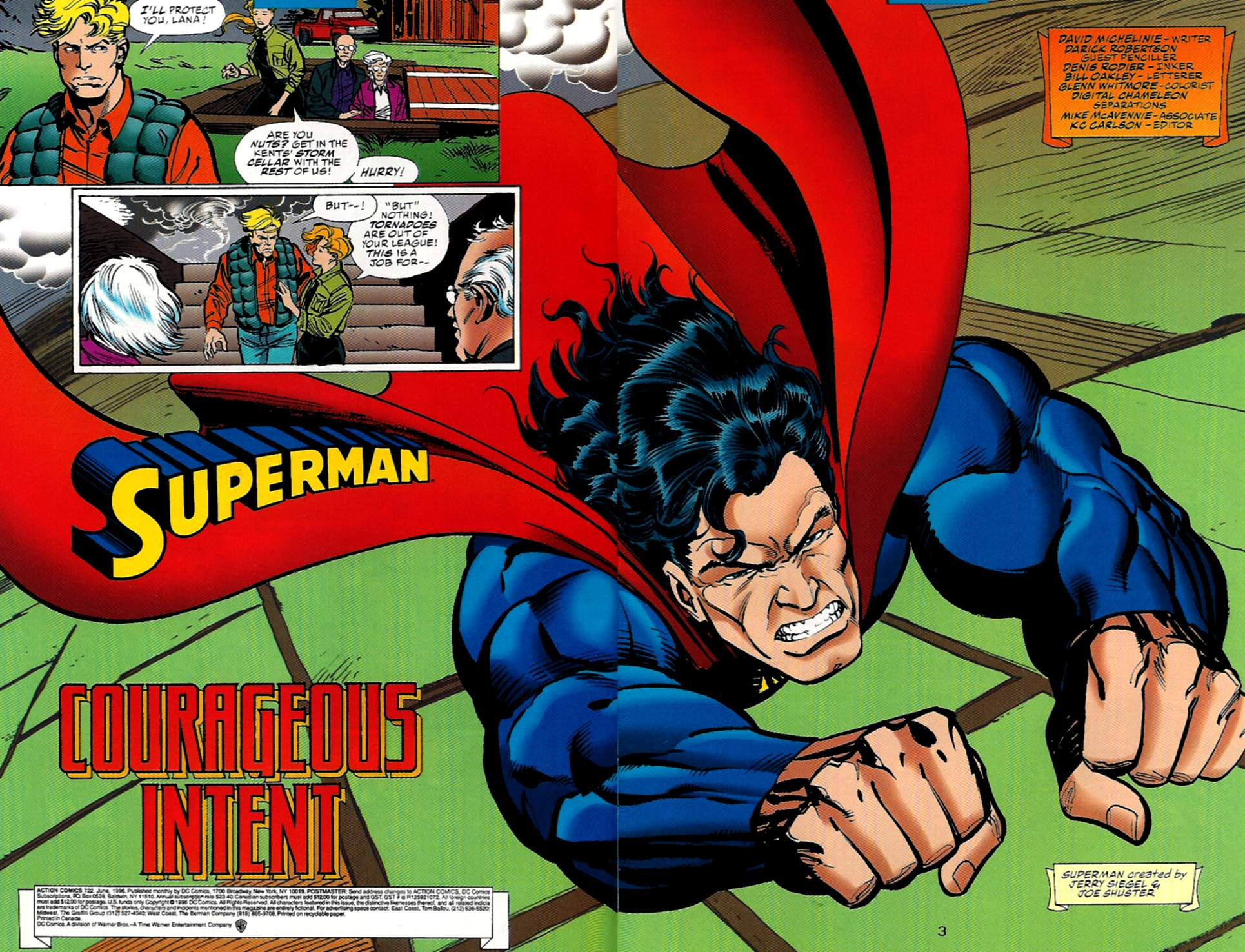 Read online Action Comics (1938) comic -  Issue #722 - 3