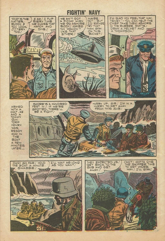 Read online Fightin' Navy comic -  Issue #81 - 32