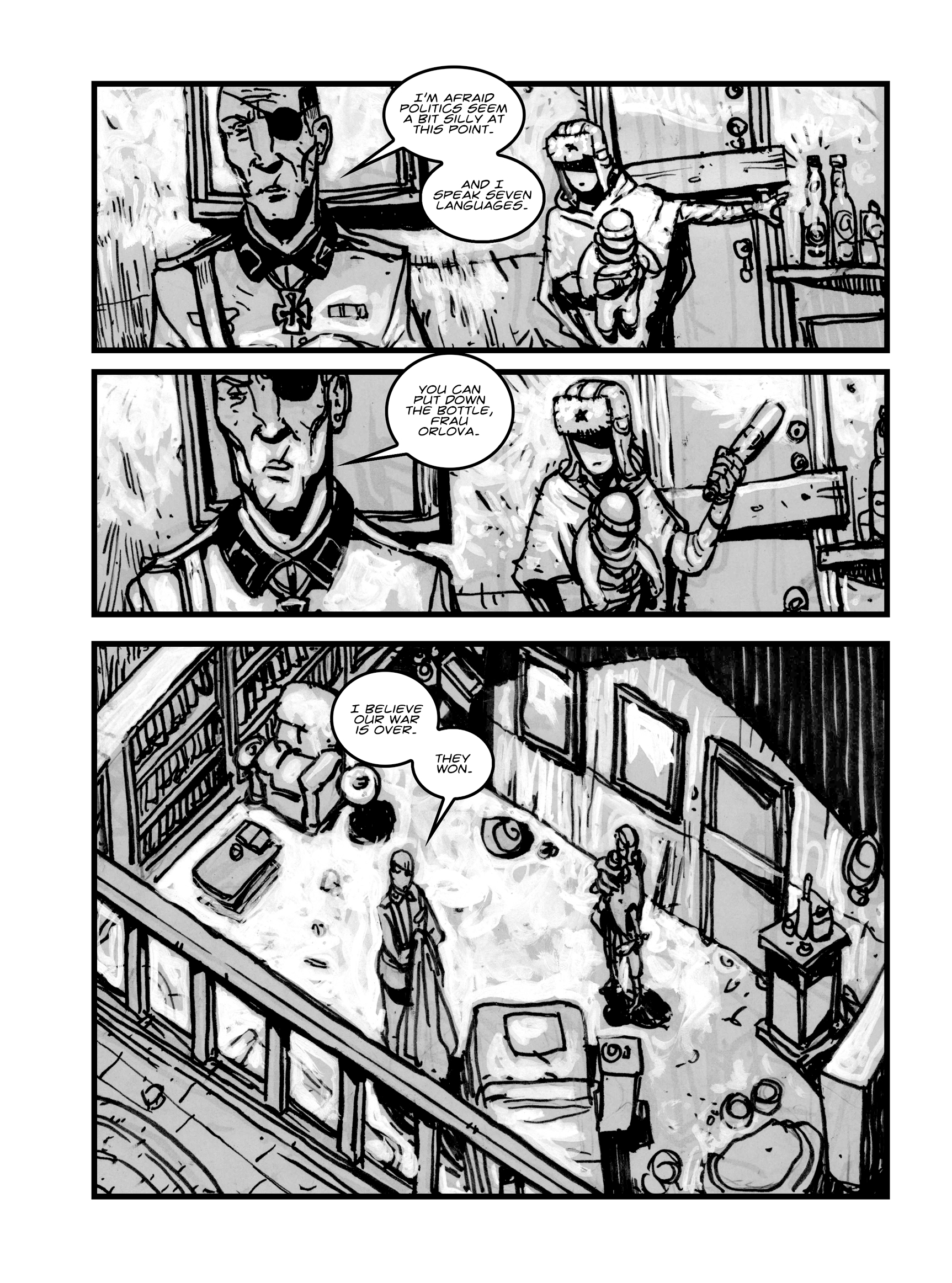 Read online FUBAR comic -  Issue #1 - 92