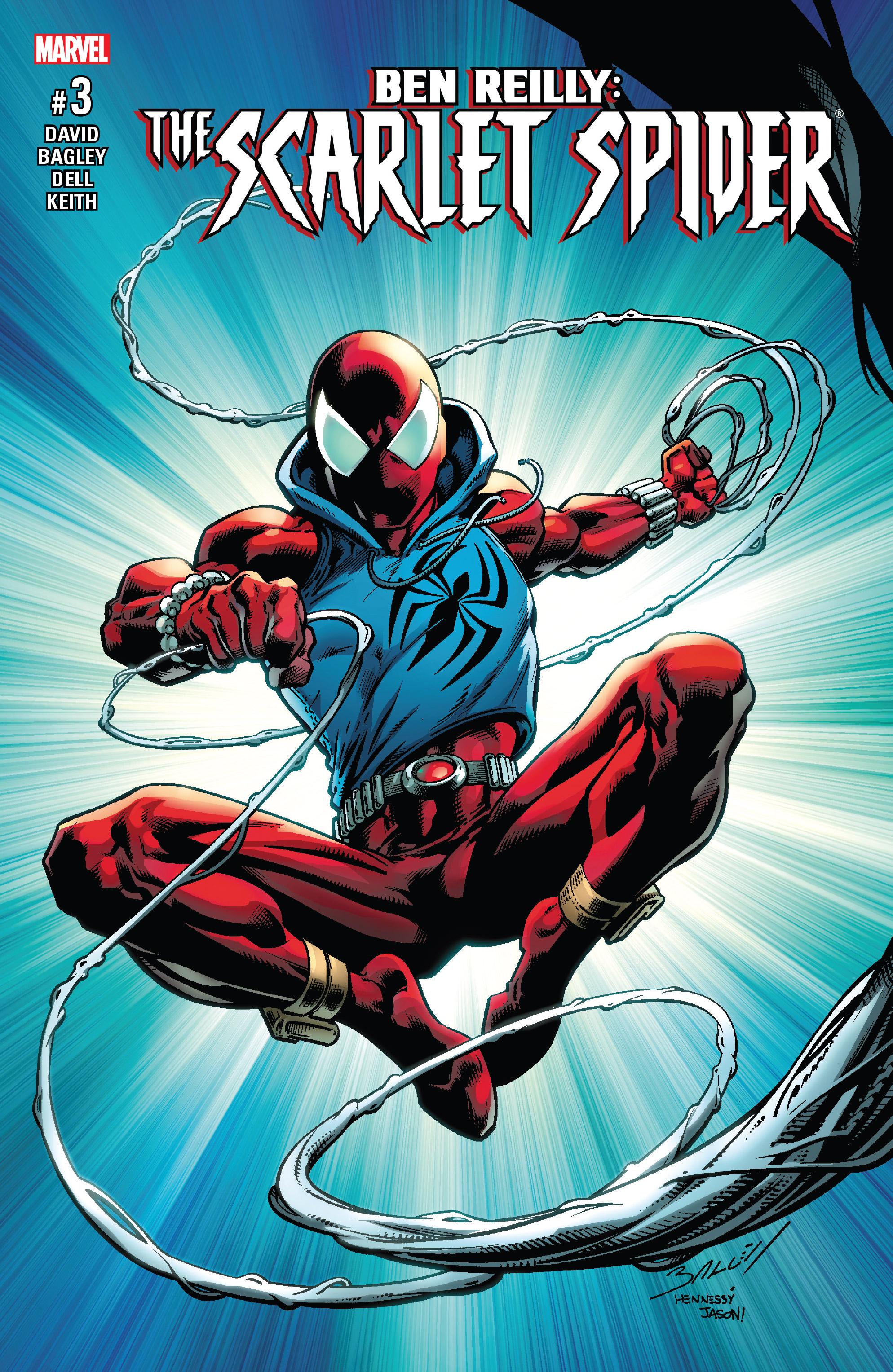 Read online Ben Reilly: Scarlet Spider comic -  Issue #3 - 1