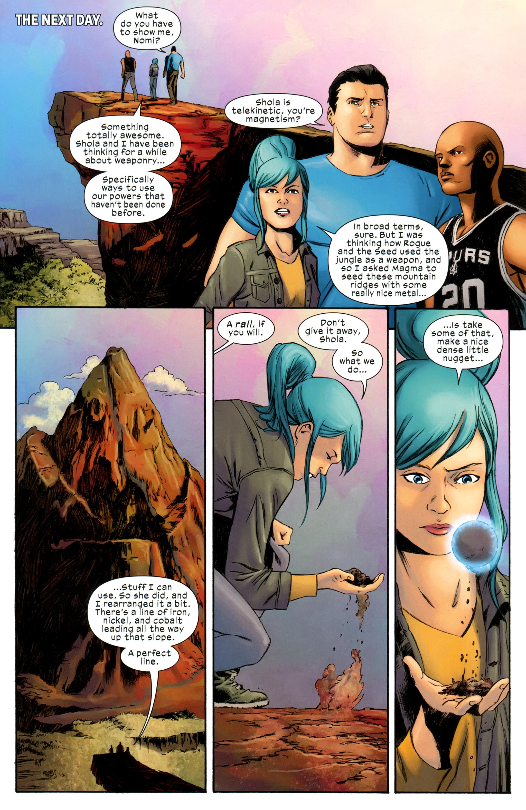 Read online Ultimate Comics X-Men comic -  Issue #31 - 17