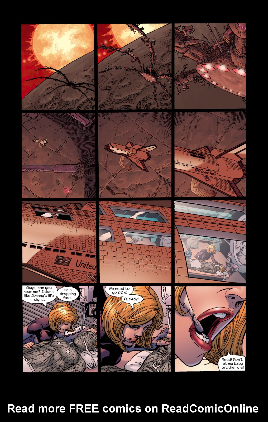 Read online Ultimate Fantastic Four (2004) comic -  Issue #17 - 12