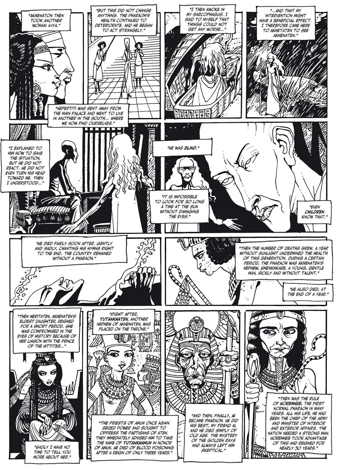 Read online The Egyptian Princesses comic -  Issue # TPB 1 (Part 3) - 5