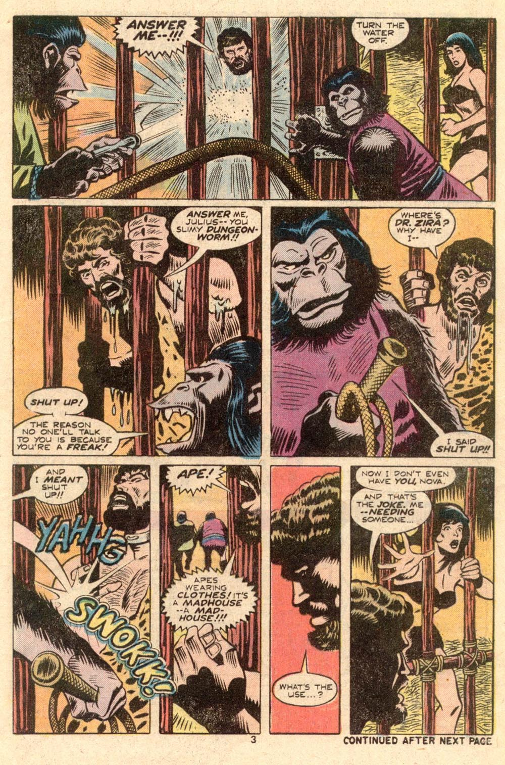 Read online Adventures on the Planet of the Apes comic -  Issue #4 - 4