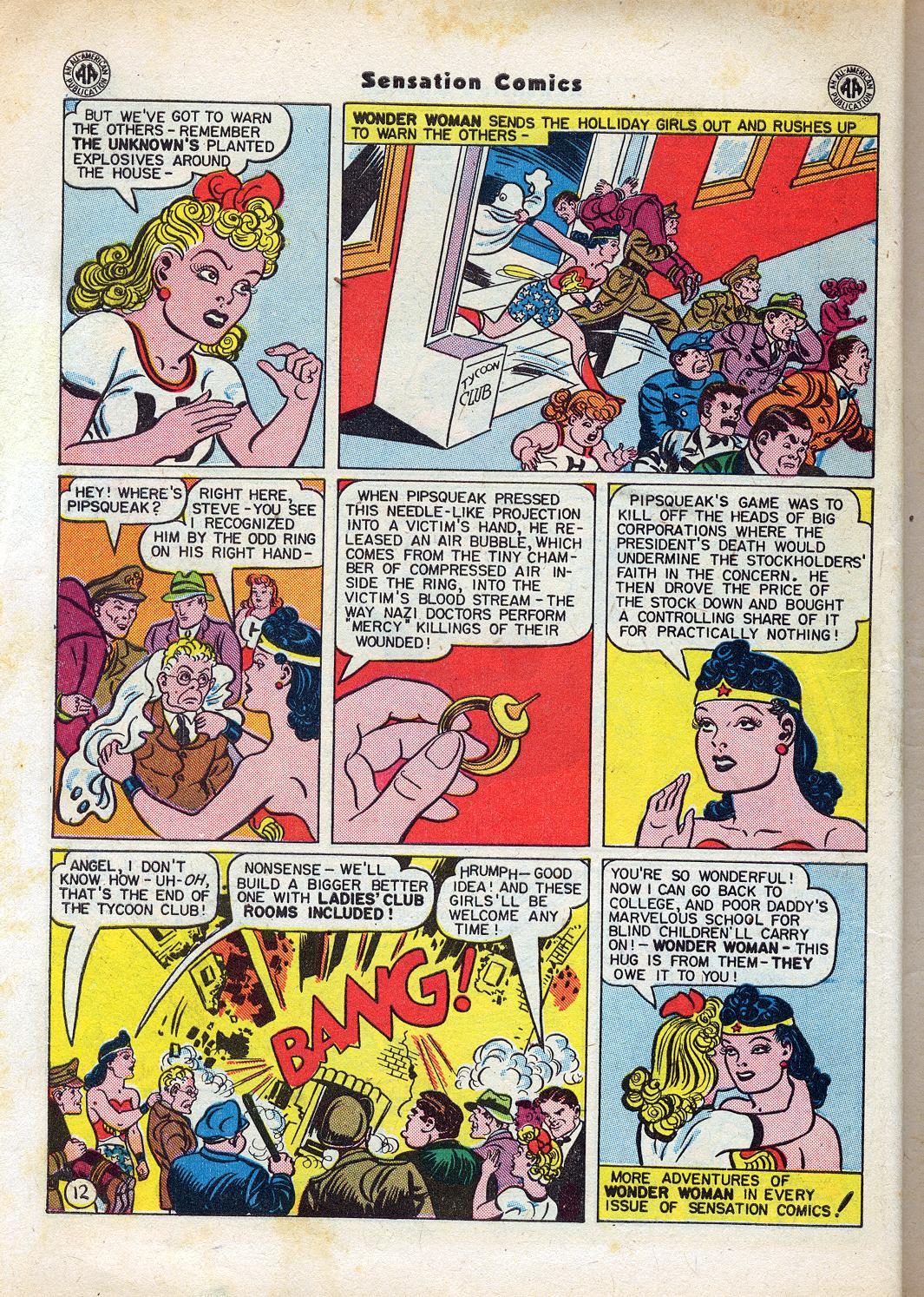 Read online Sensation (Mystery) Comics comic -  Issue #47 - 14