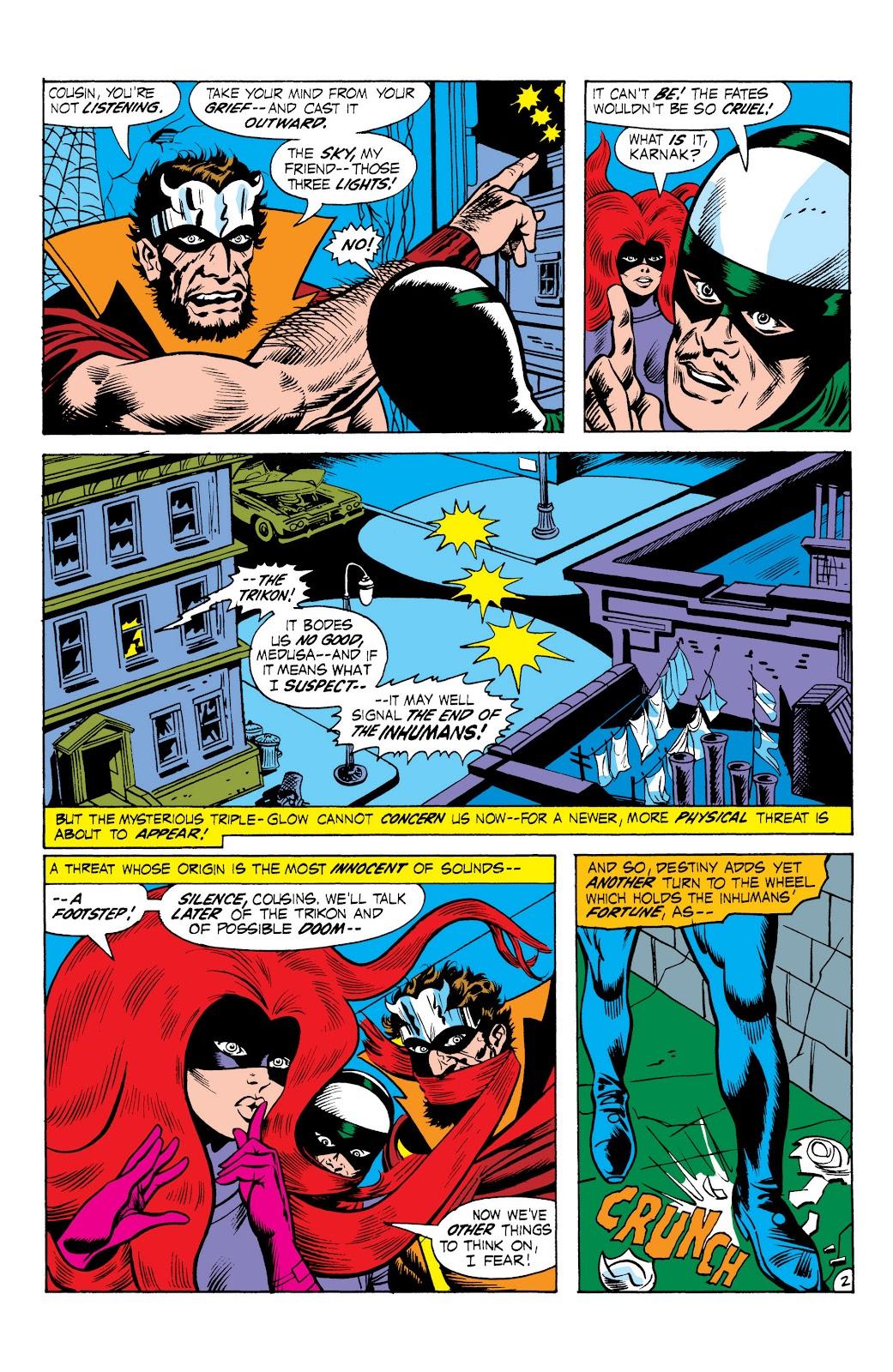 Read online Marvel Masterworks: The Inhumans comic -  Issue # TPB 1 (Part 2) - 59