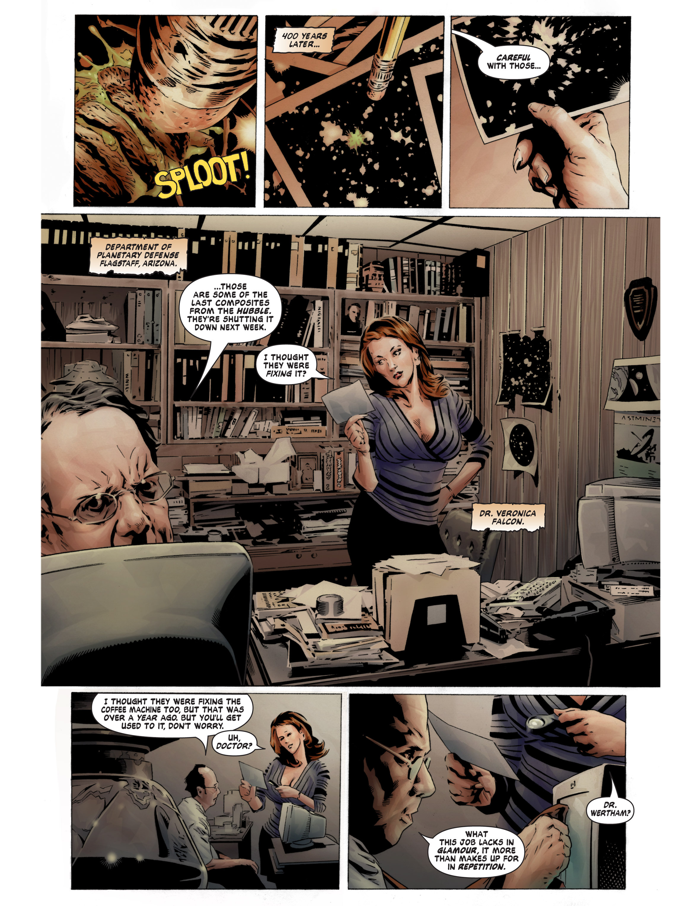 Read online Bad Planet comic -  Issue # TPB - 13