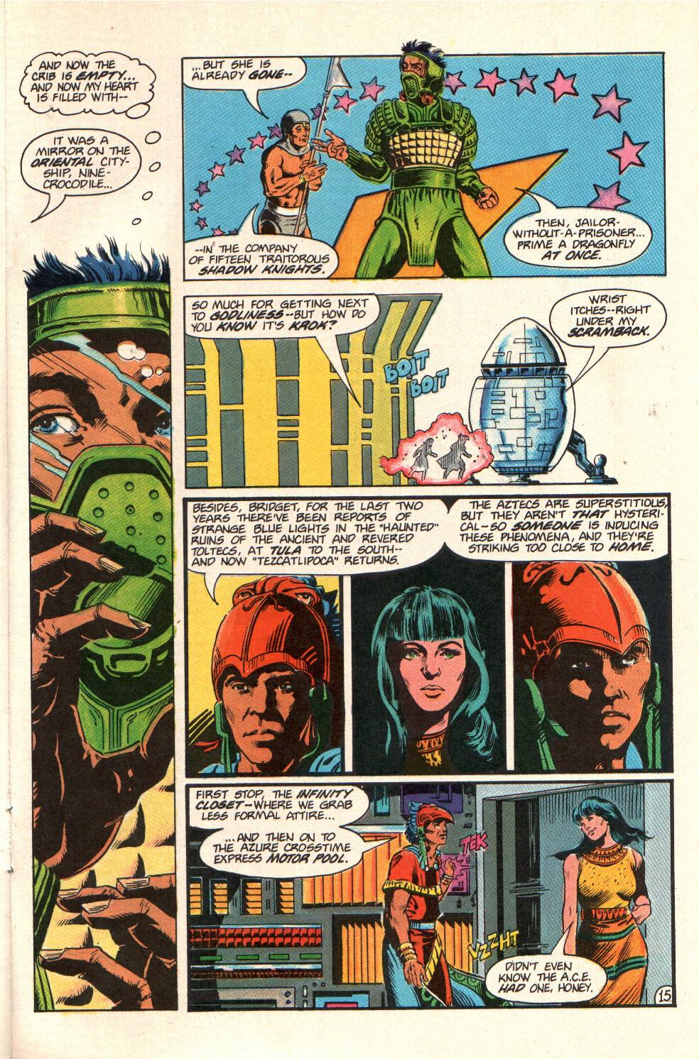 Read online Aztec Ace comic -  Issue #10 - 13