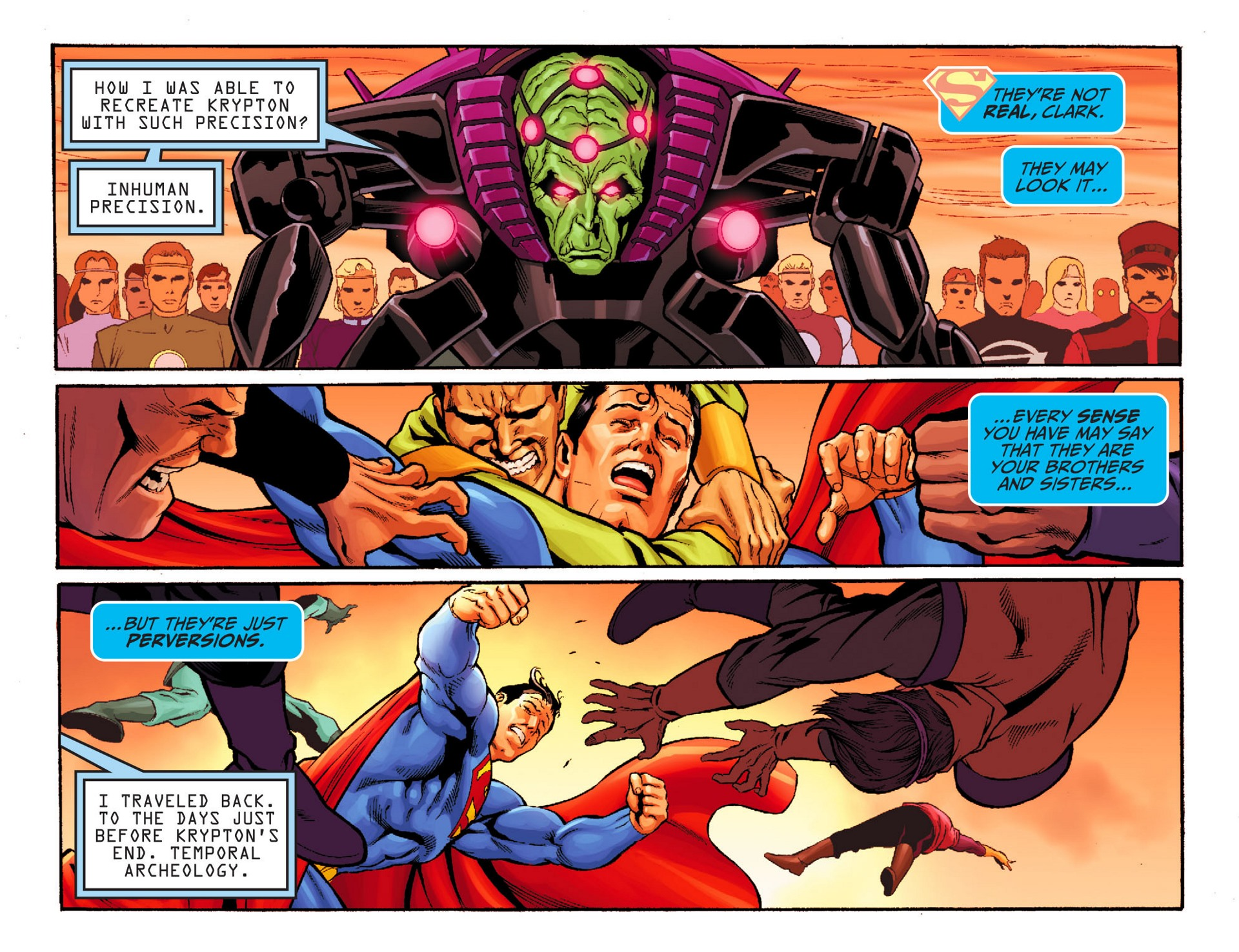 Read online Adventures of Superman [I] comic -  Issue #24 - 9