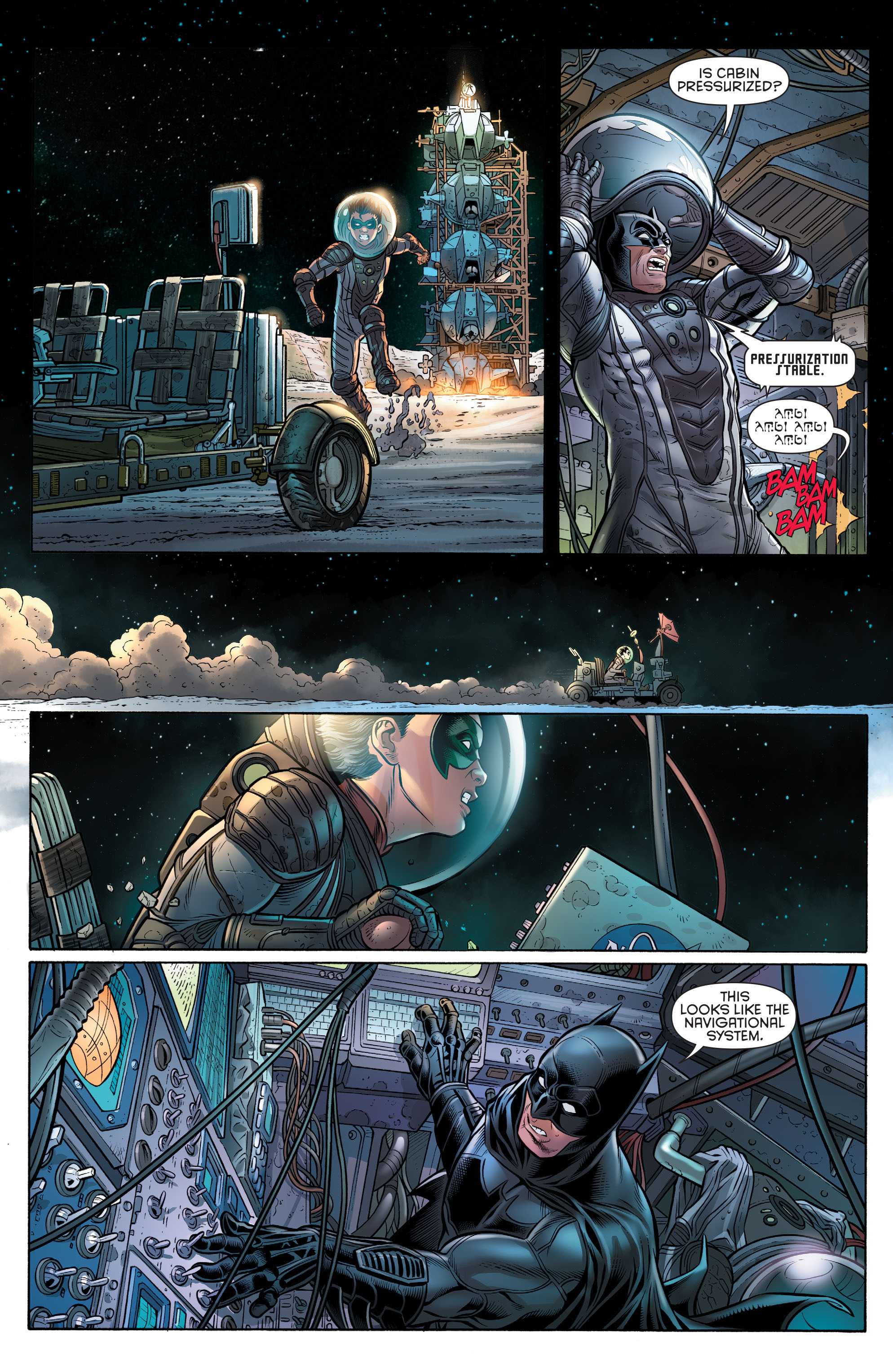 Read online Batman and Robin (2011) comic -  Issue # Annual 3 - 26