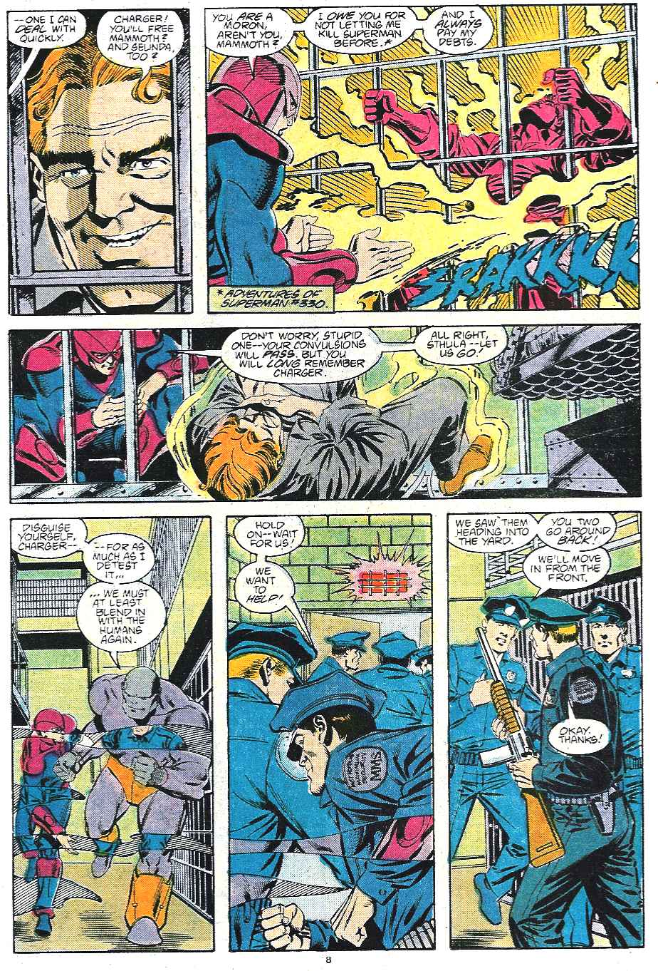 Read online Adventures of Superman (1987) comic -  Issue #435 - 9