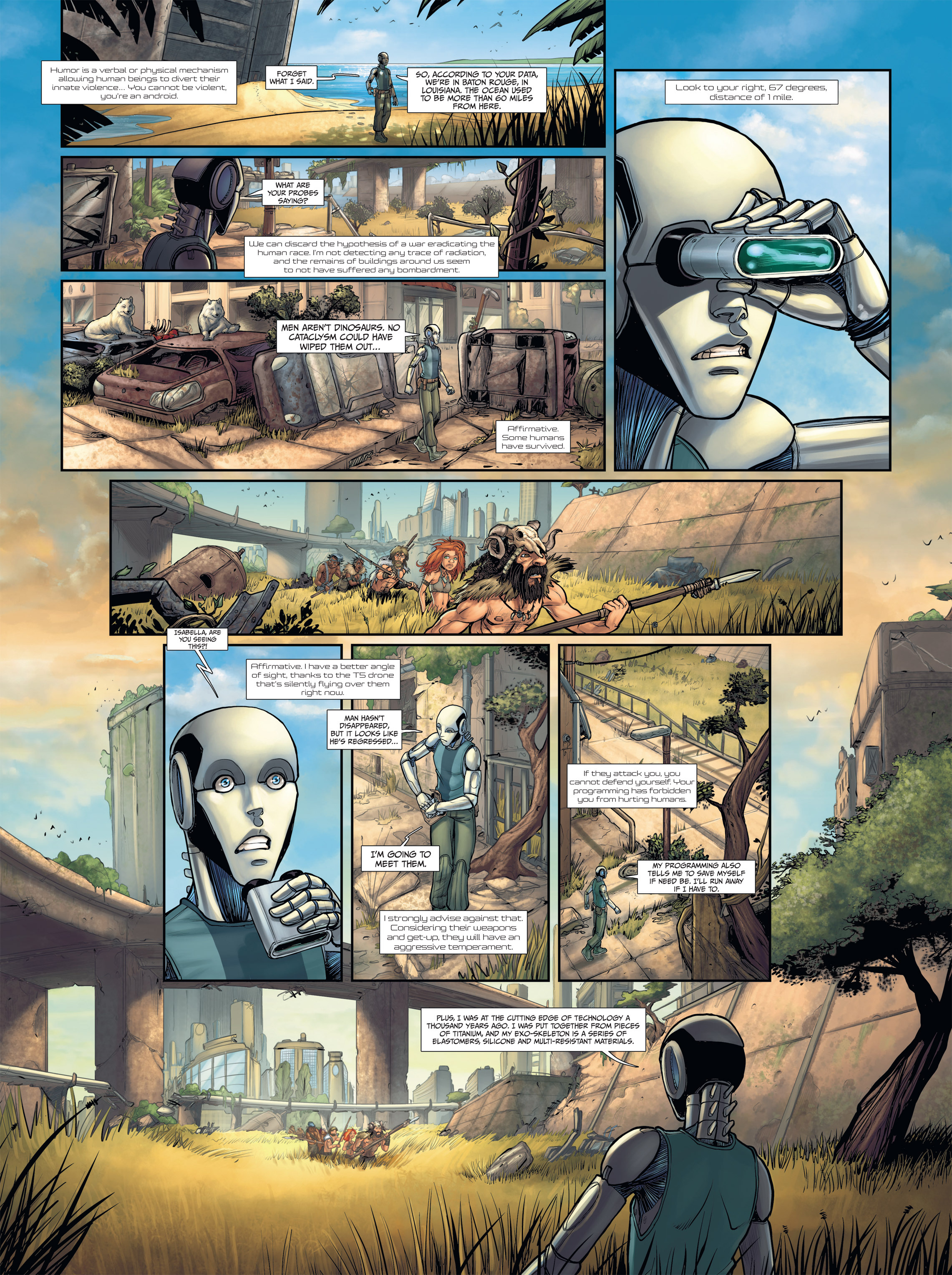 Read online Androïds comic -  Issue #2 - 17