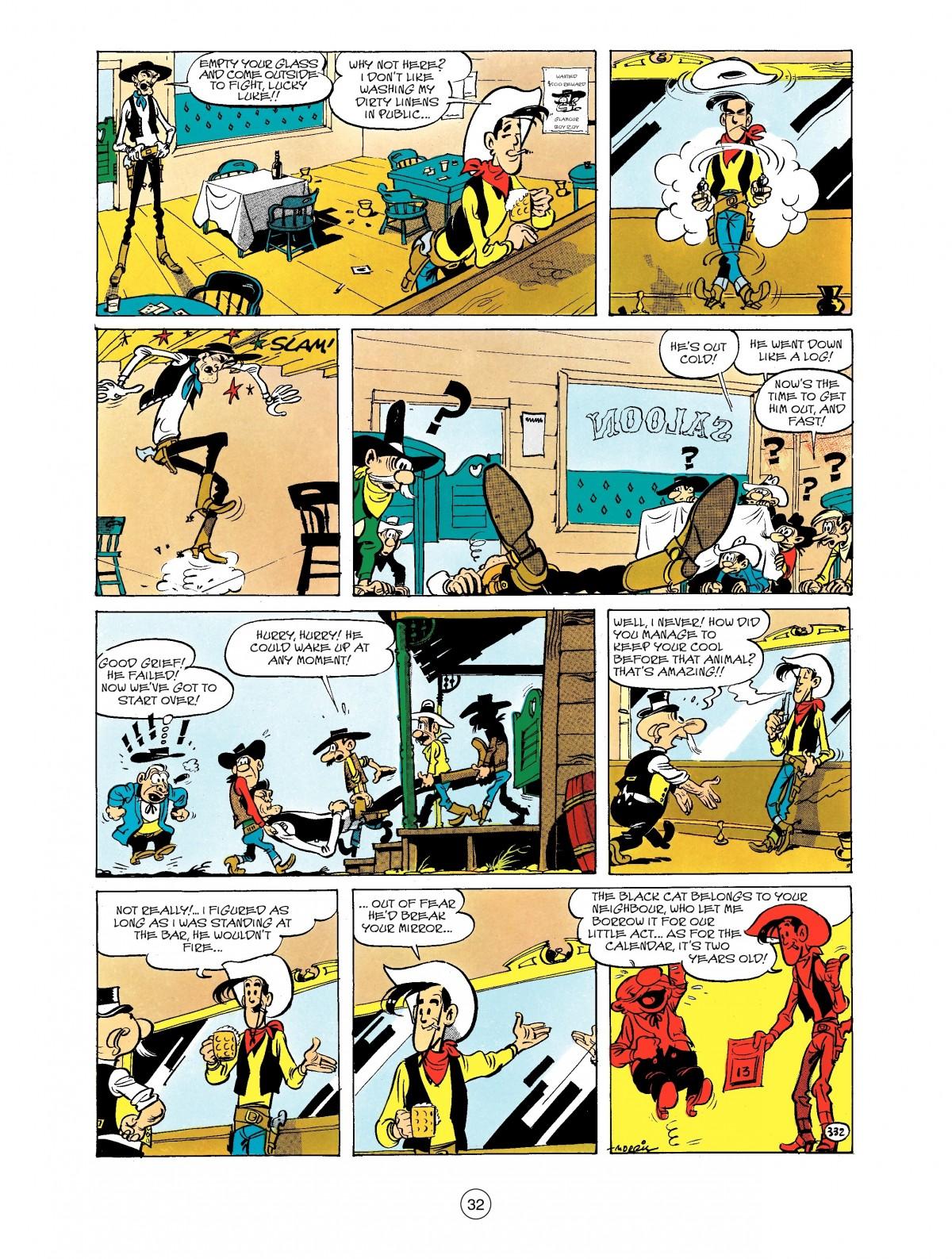 Read online A Lucky Luke Adventure comic -  Issue #40 - 32
