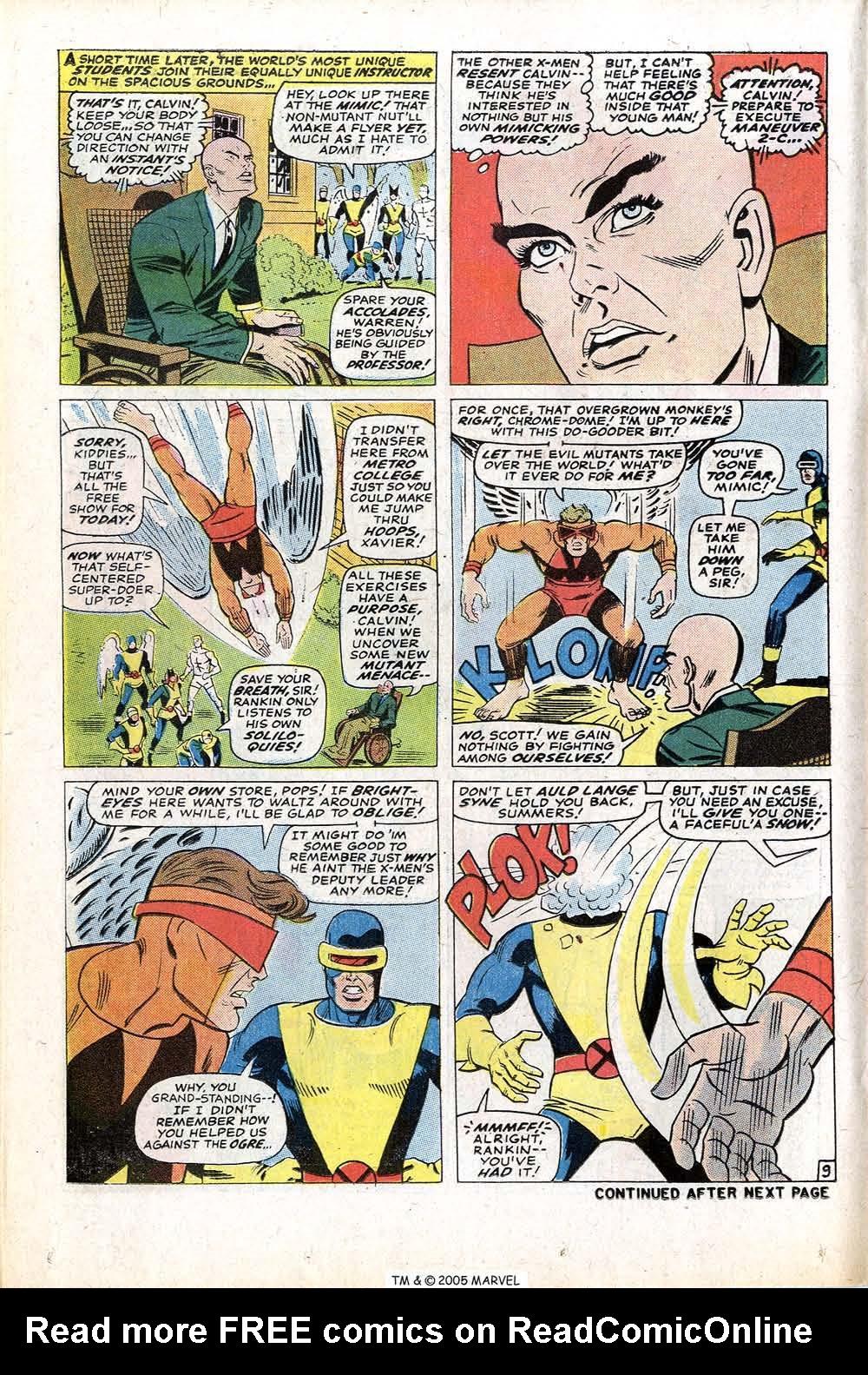 Read online Uncanny X-Men (1963) comic -  Issue #77 - 14