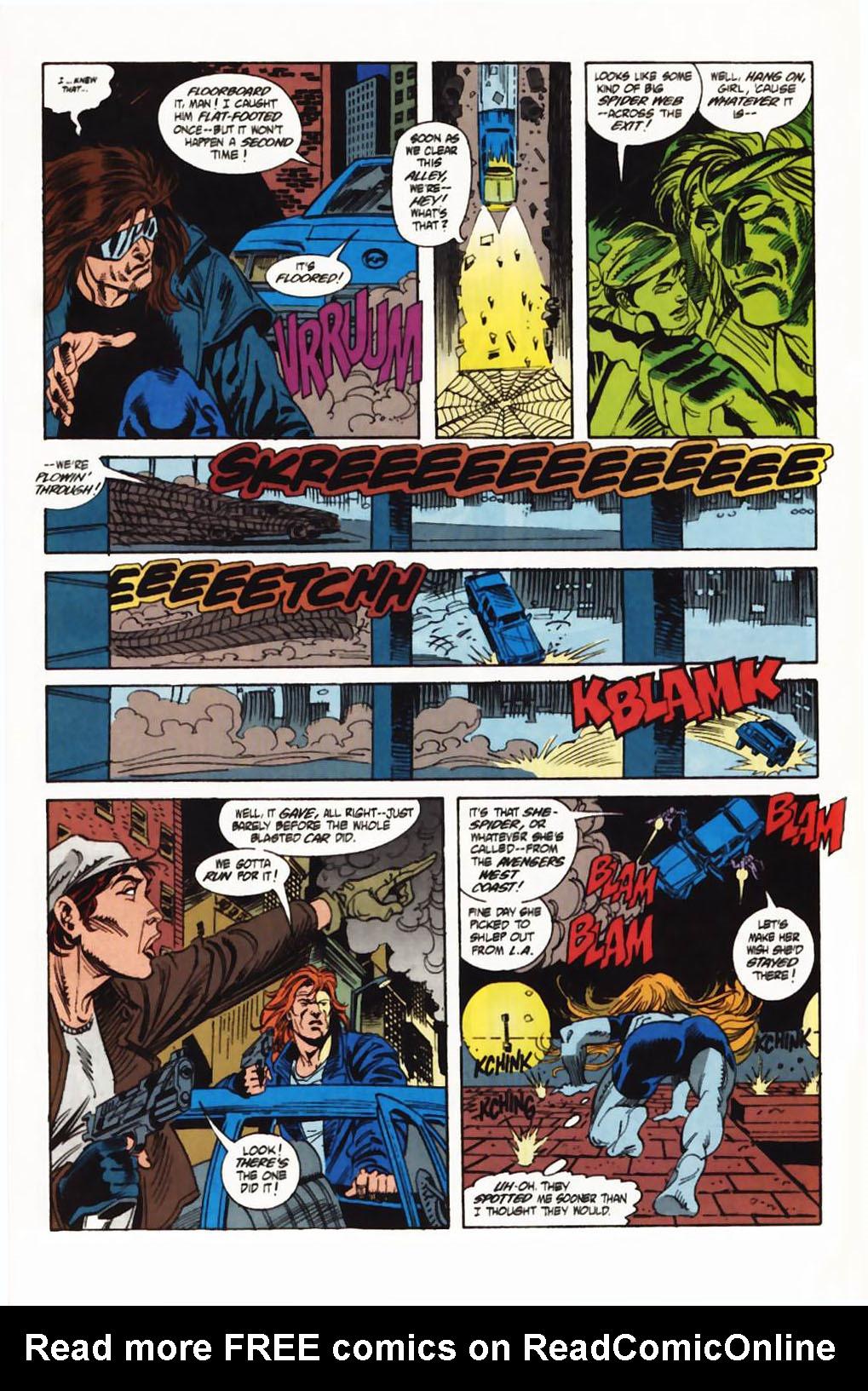 Read online Secret Defenders comic -  Issue #1 - 8