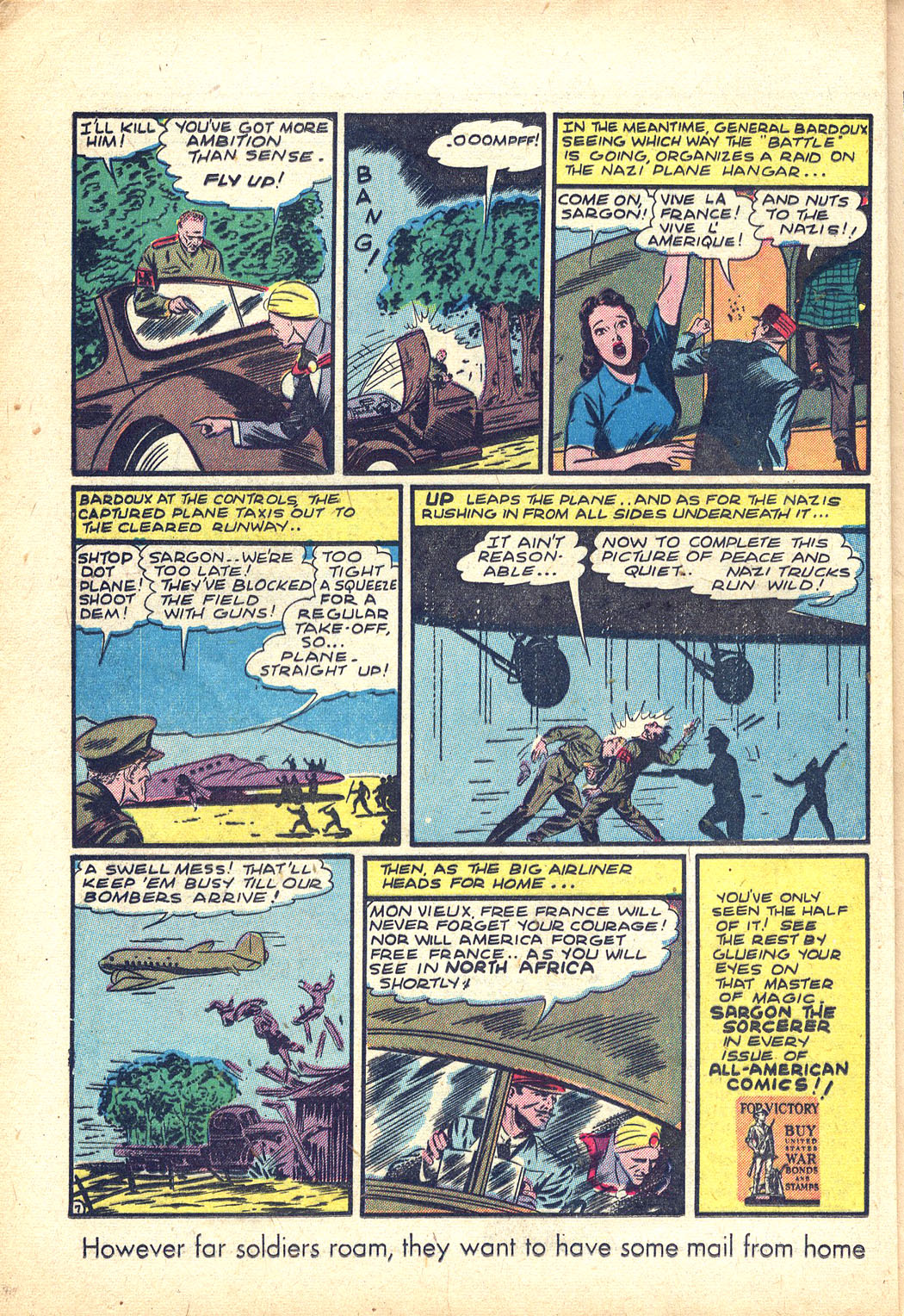 Read online Sensation (Mystery) Comics comic -  Issue #34 - 22