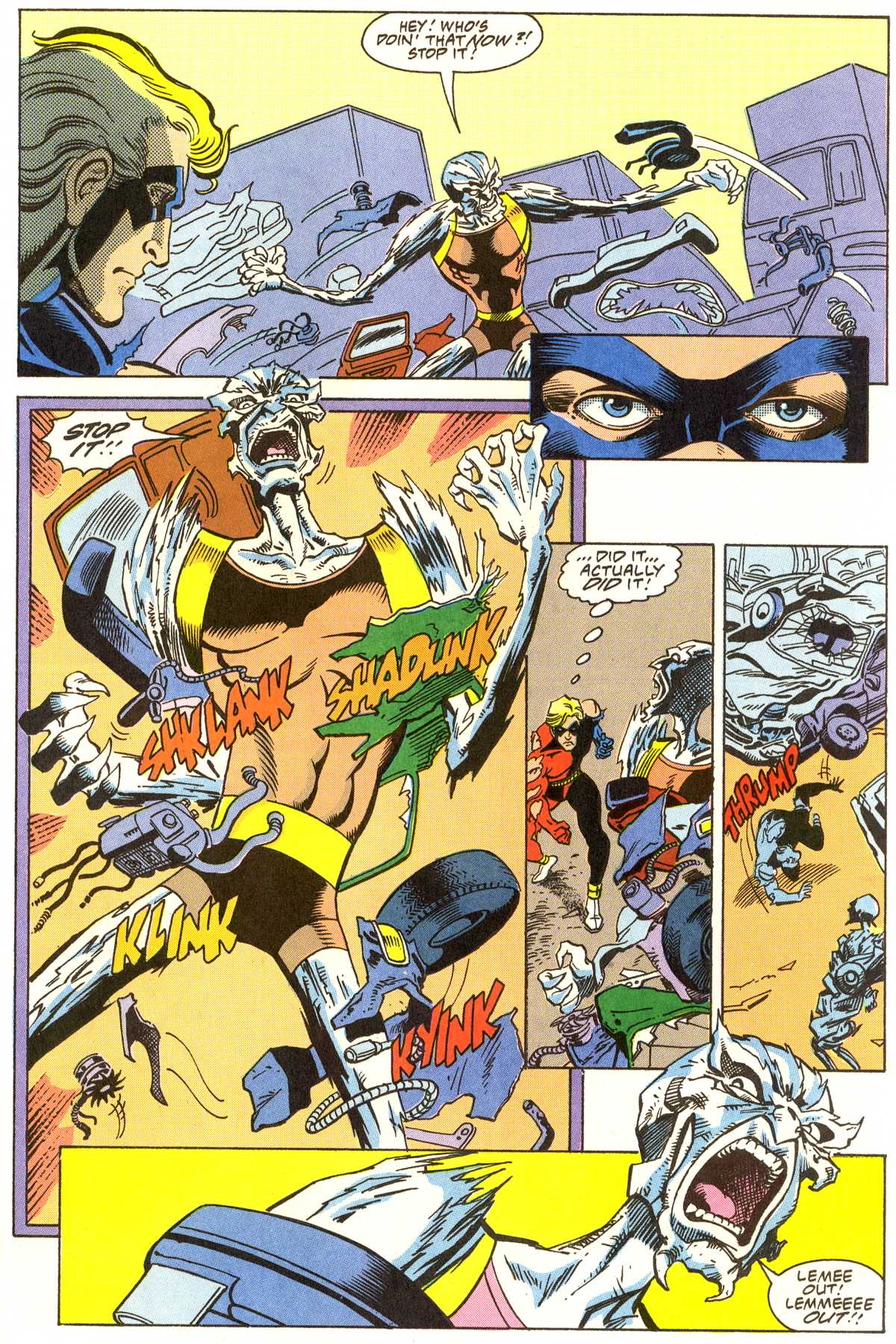 Read online Peter Cannon--Thunderbolt (1992) comic -  Issue #7 - 14