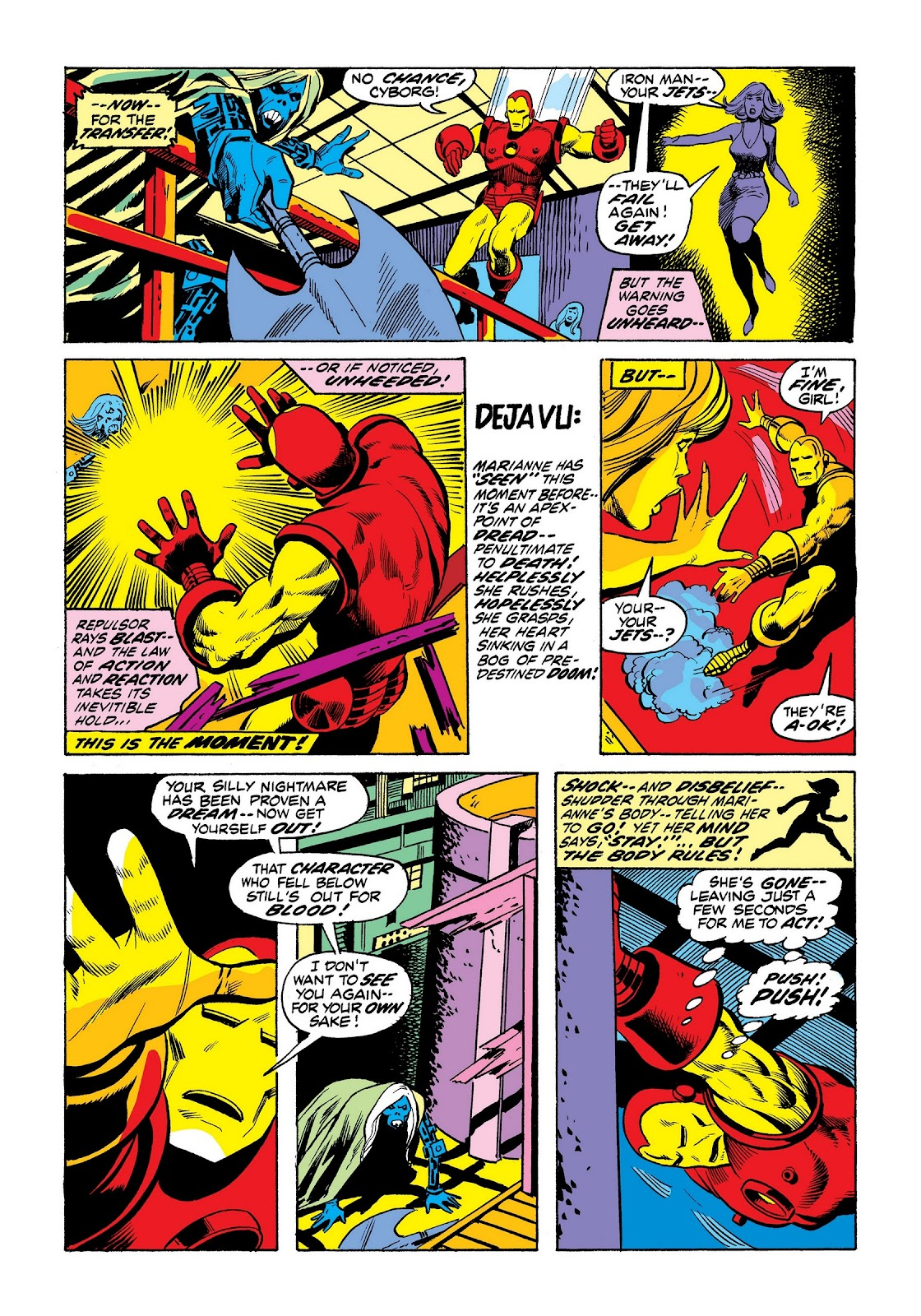 Read online Marvel Masterworks: The Invincible Iron Man comic -  Issue # TPB 8 (Part 3) - 67