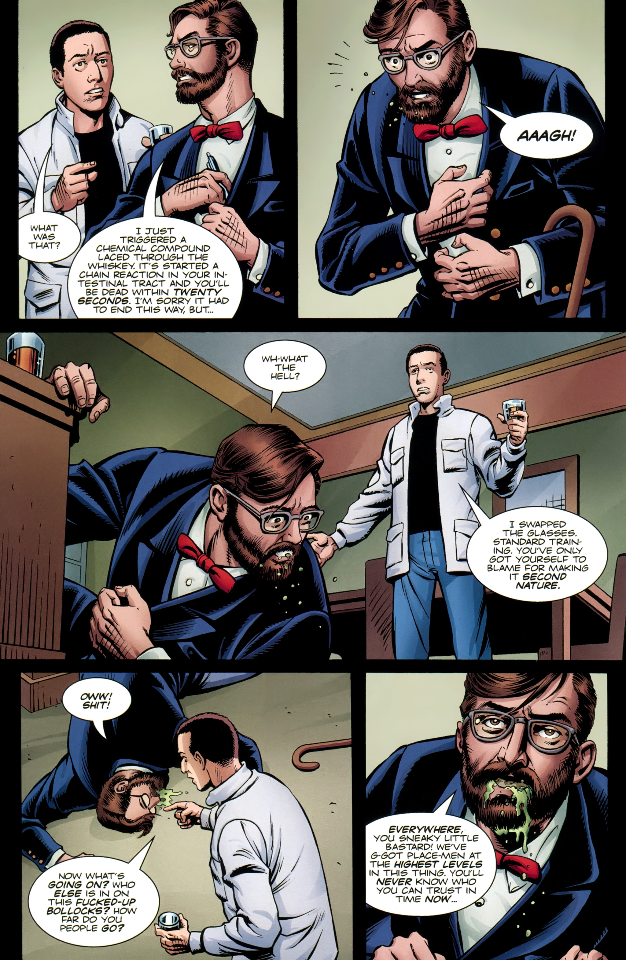 Read online Secret Service comic -  Issue #6 - 7