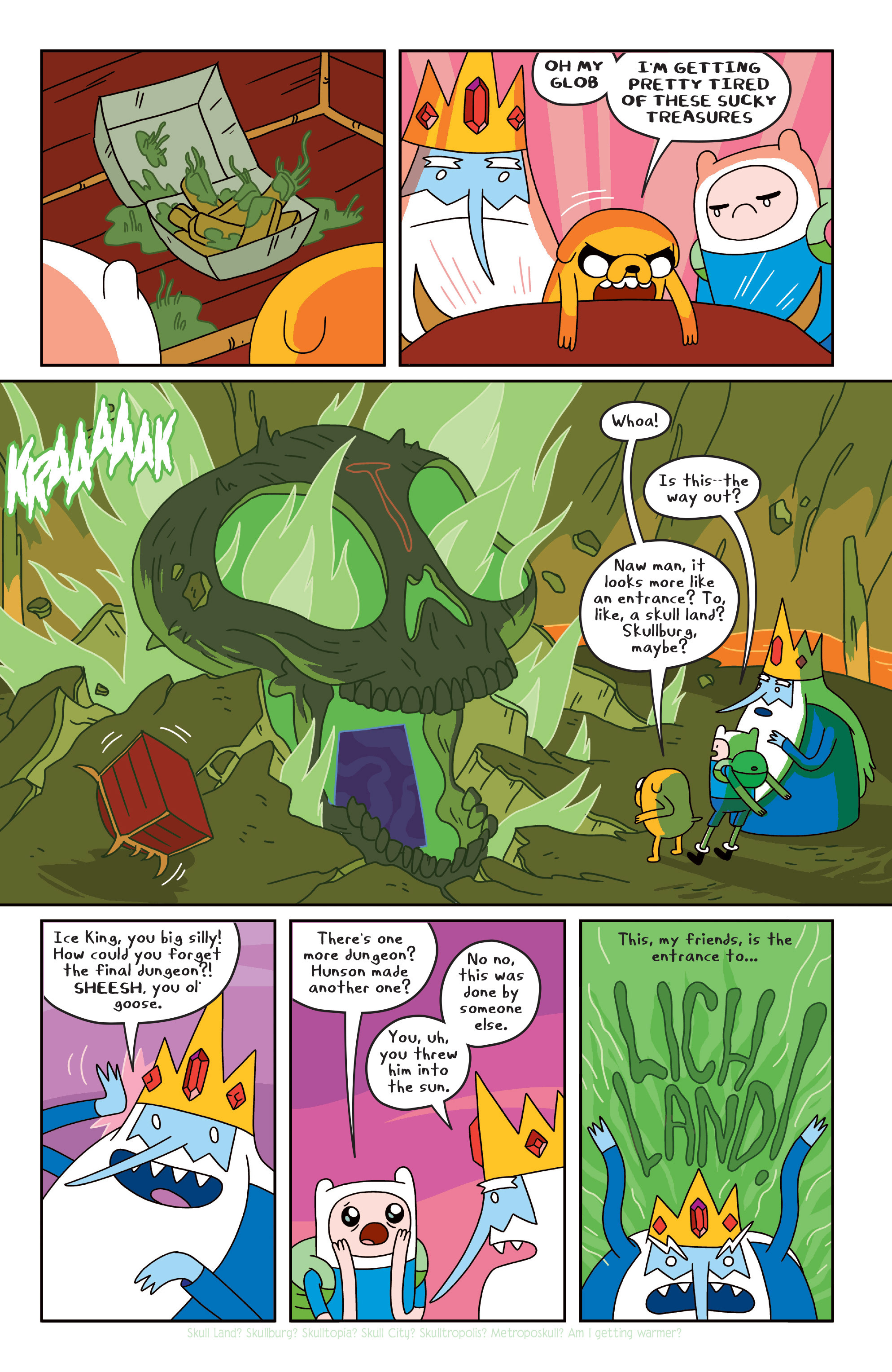 Read online Adventure Time comic -  Issue #Adventure Time _TPB 4 - 69