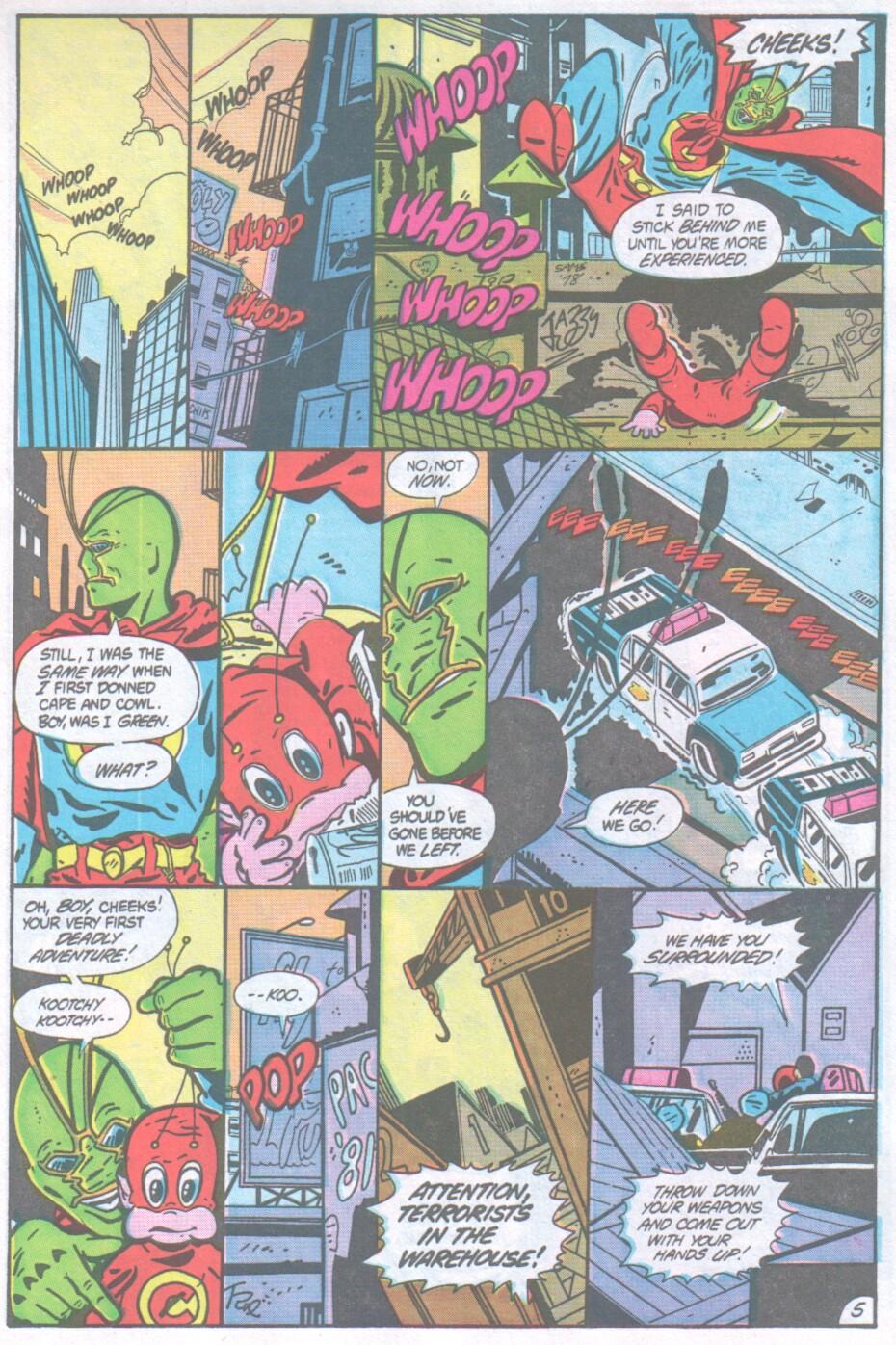 Read online Ambush Bug comic -  Issue #1 - 6