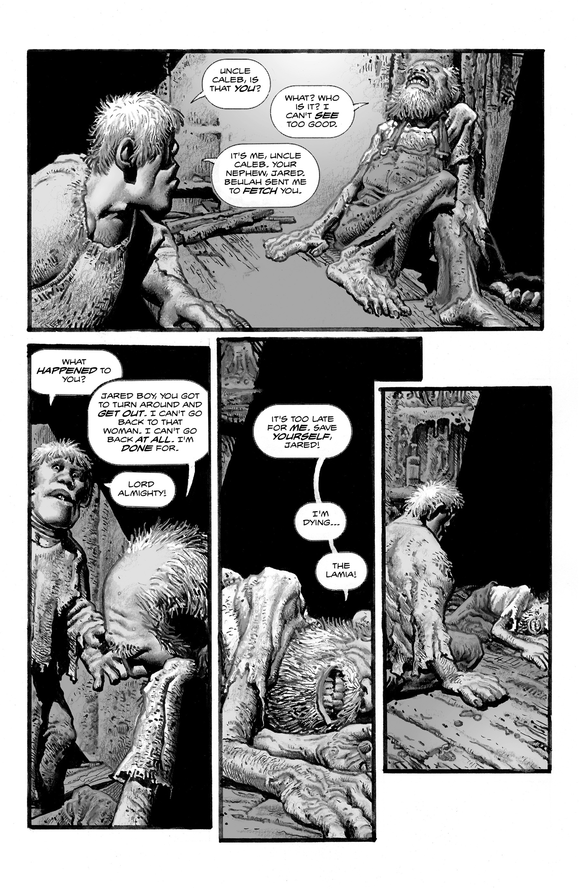 Read online Shadows on the Grave comic -  Issue #2 - 15