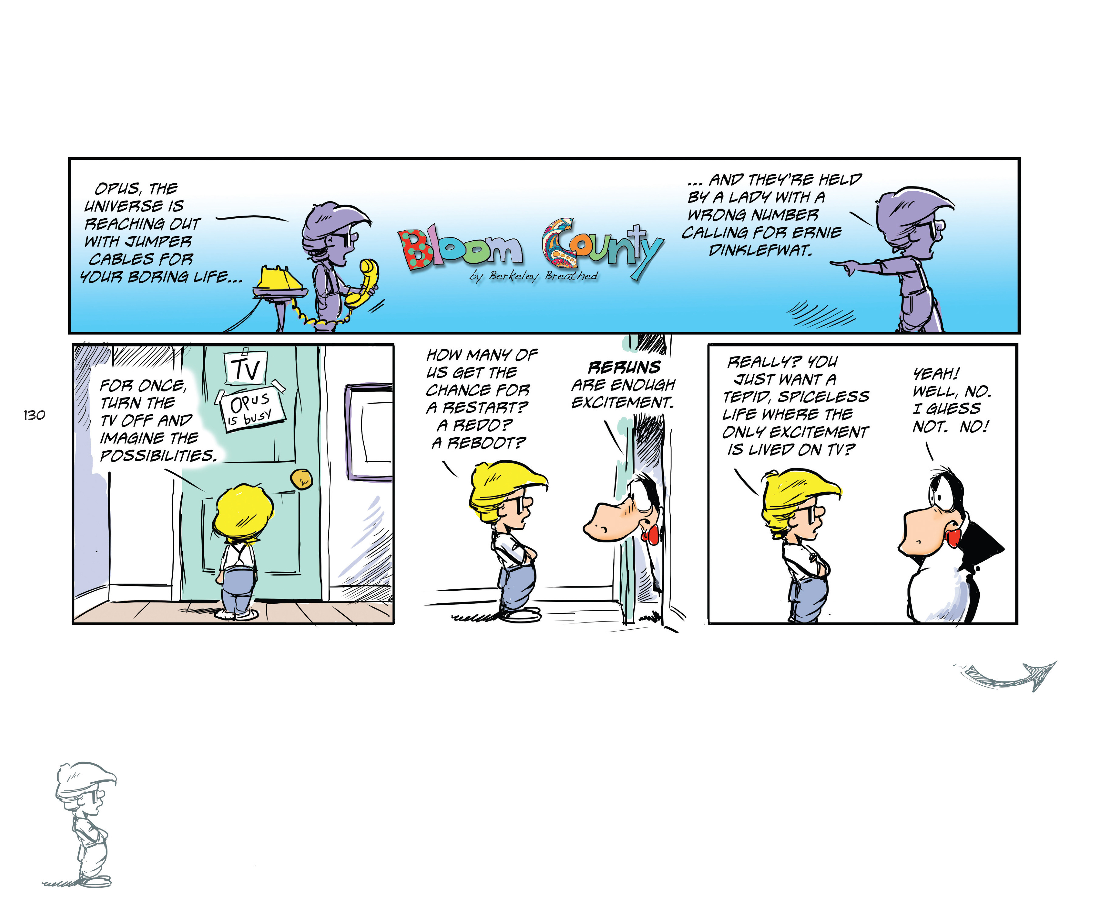Read online Bloom County Episode XI: A New Hope comic -  Issue # Full - 132