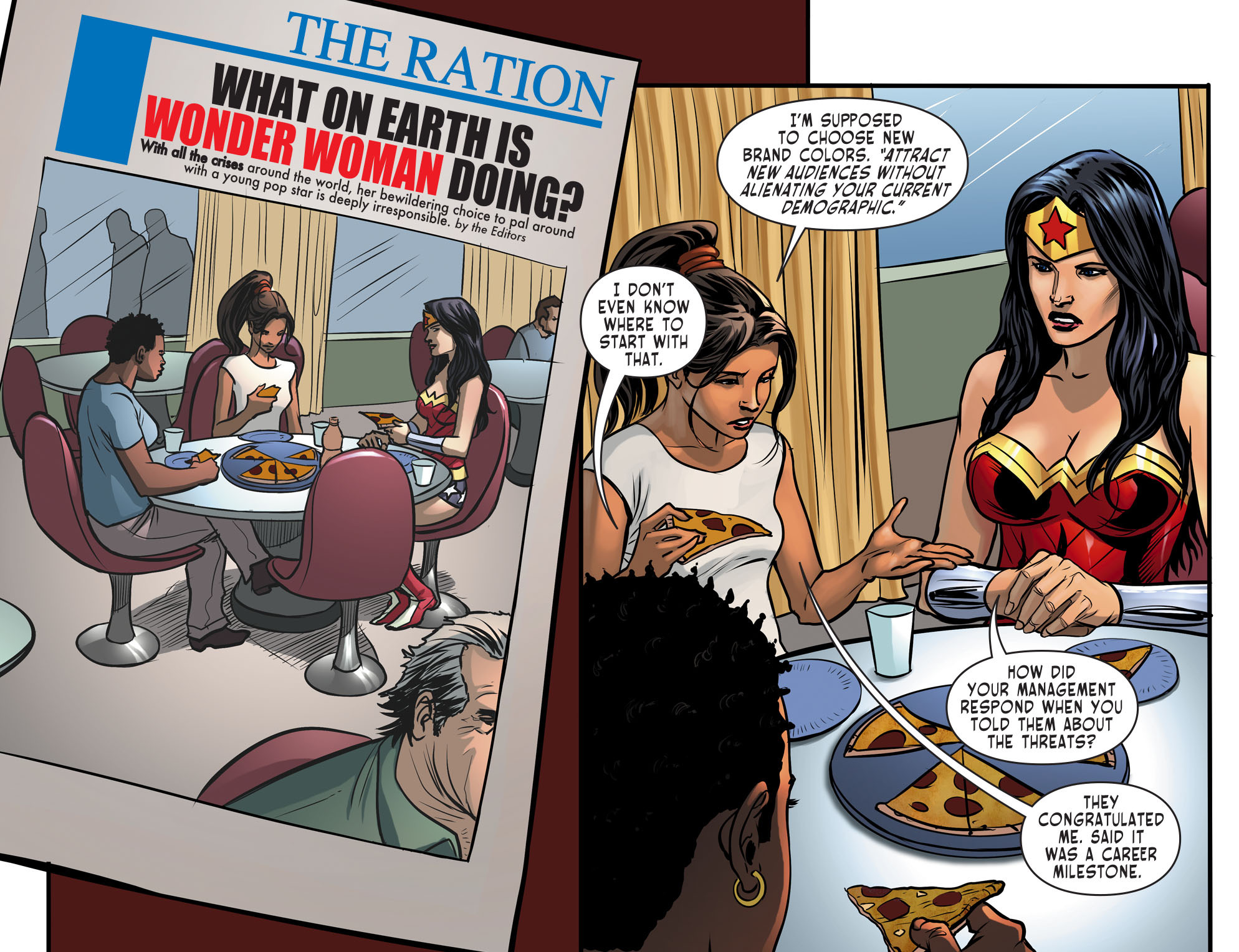 Read online Sensation Comics Featuring Wonder Woman comic -  Issue #30 - 4