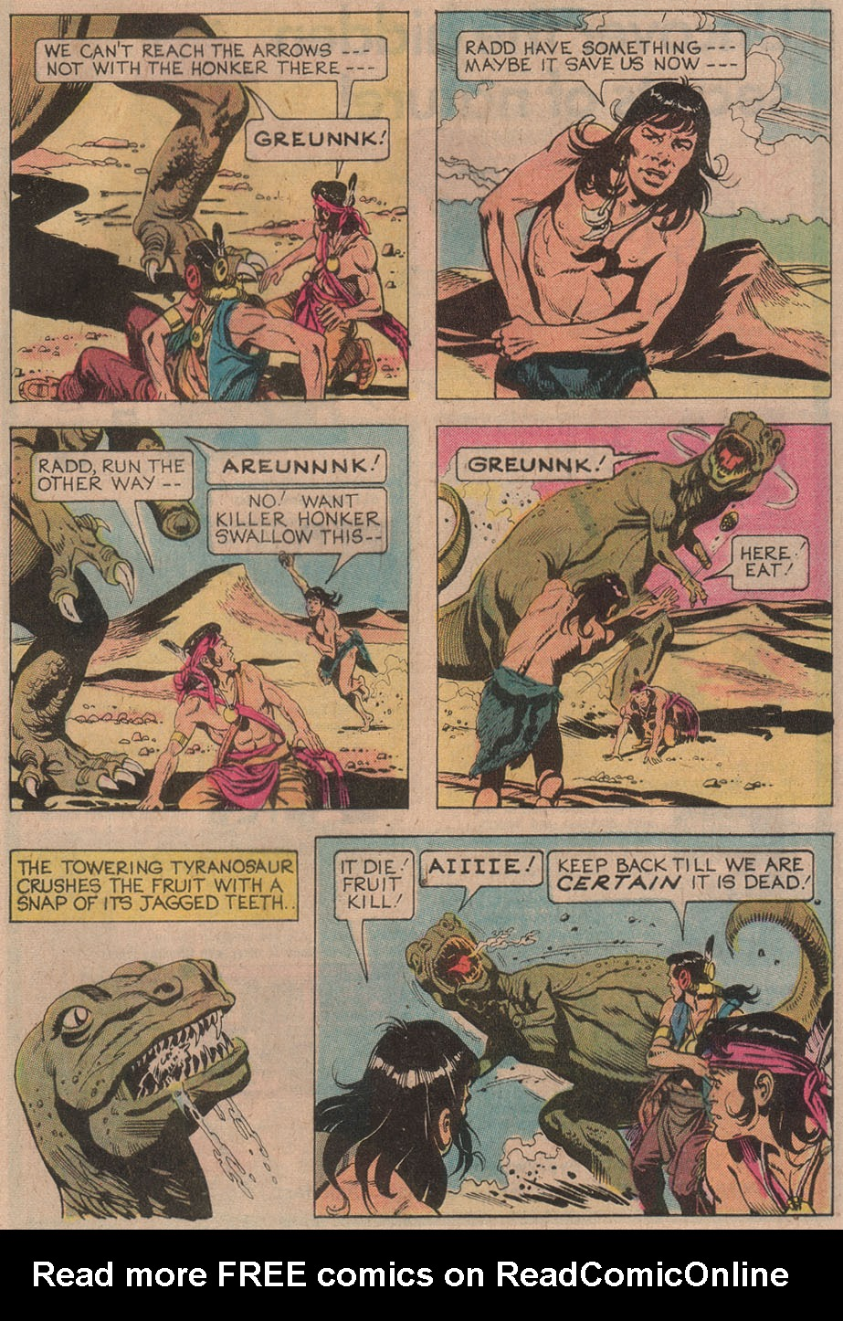 Read online Turok, Son of Stone comic -  Issue #110 - 29
