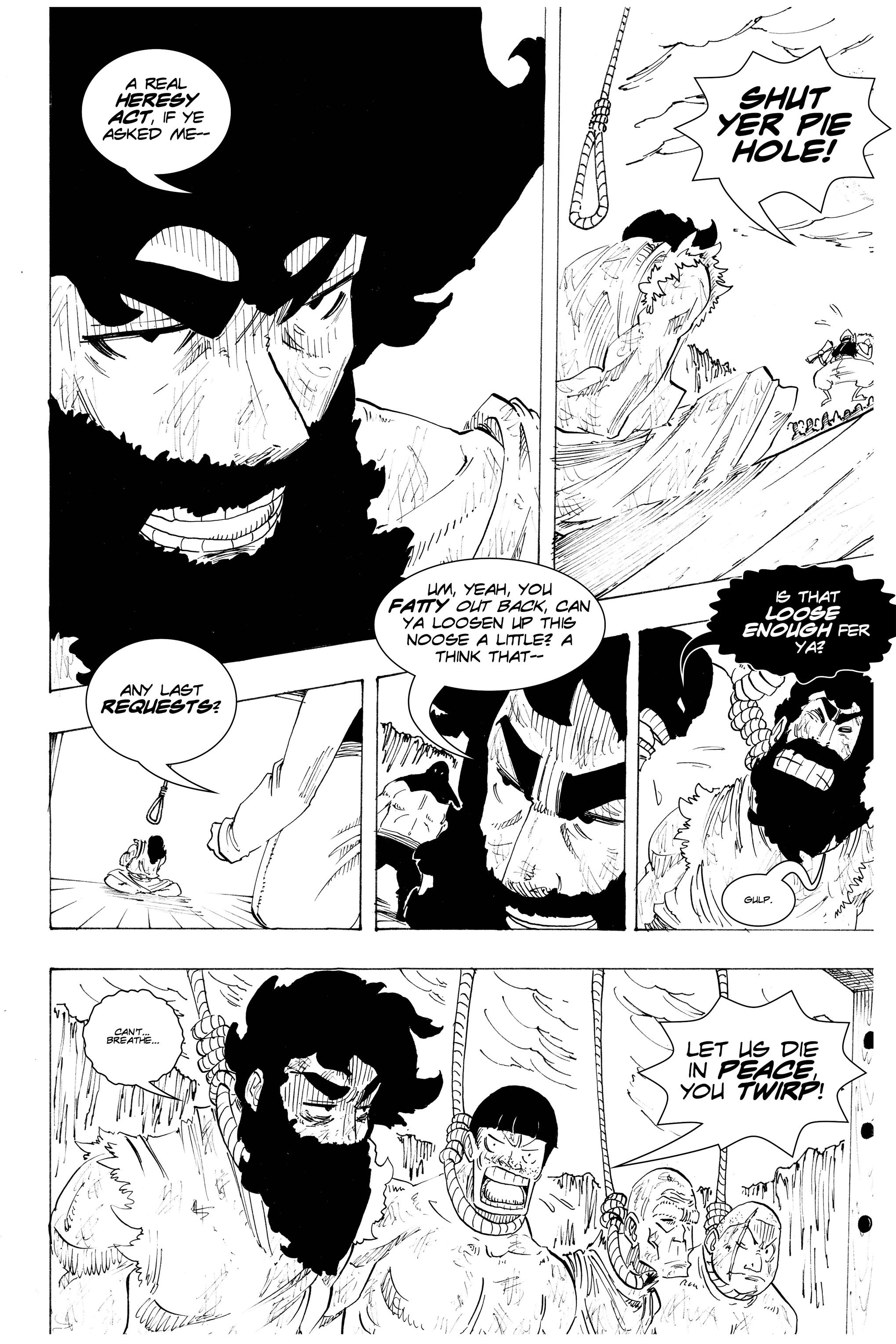 Read online Silvertongue 30xx Vol. 3 comic -  Issue # Full - 5