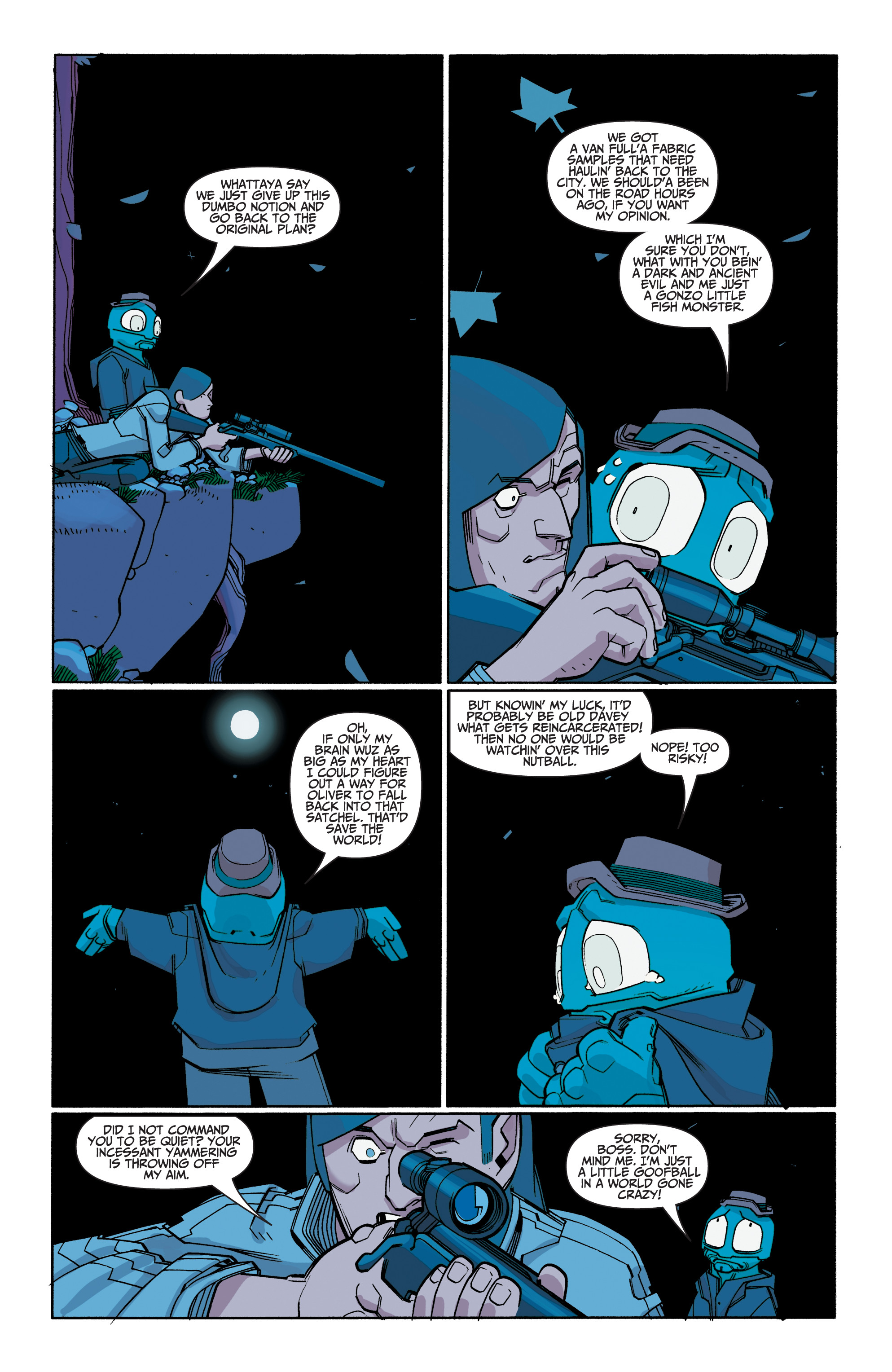 Read online A&A: The Adventures of Archer & Armstrong comic -  Issue #8 - 23