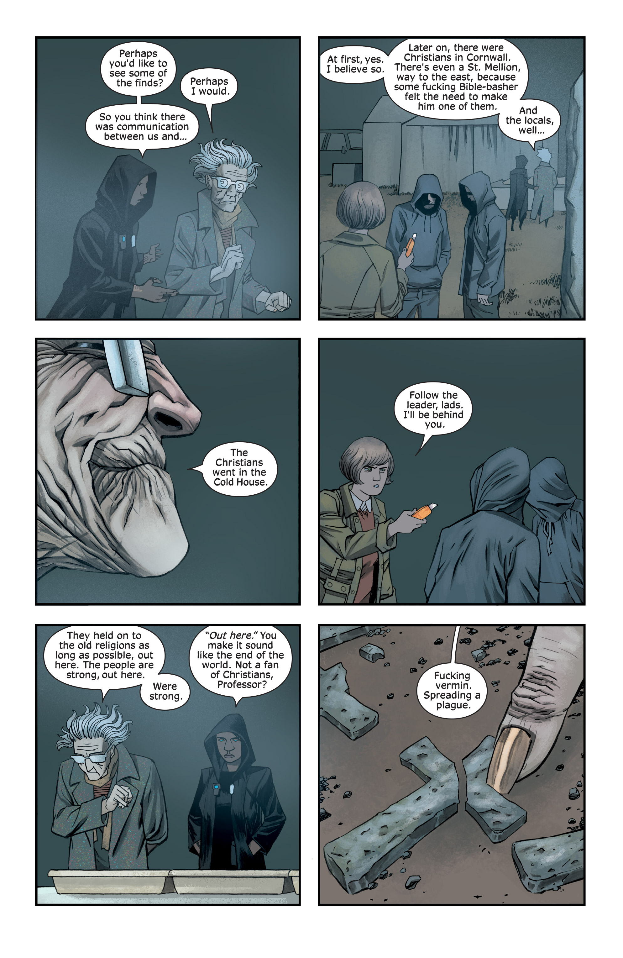 Read online Injection comic -  Issue #13 - 8