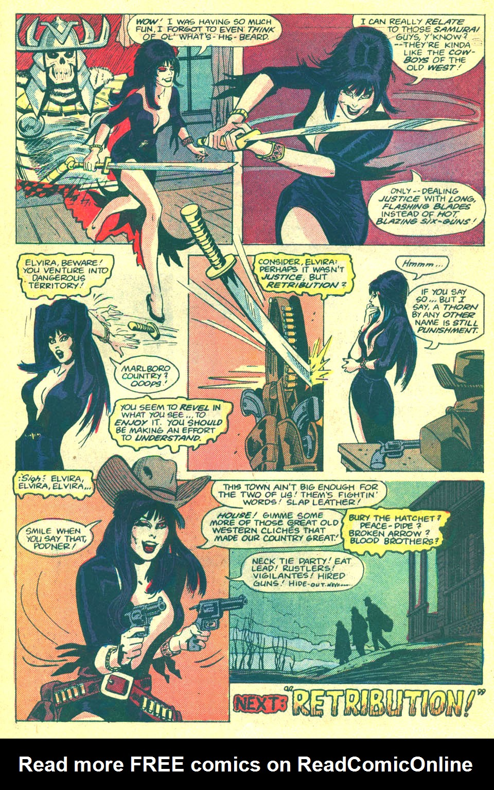 Elvira's House of Mystery Issue #2 #3 - English 23