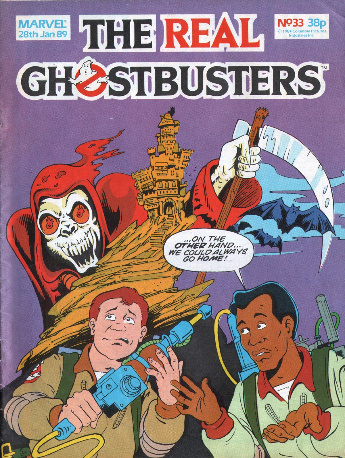 The Real Ghostbusters 33 Page 1