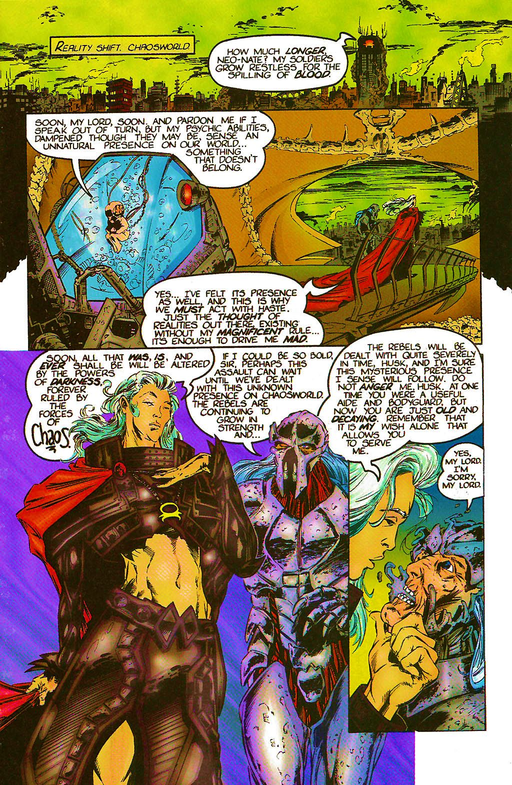 Read online Chains of Chaos comic -  Issue #2 - 7