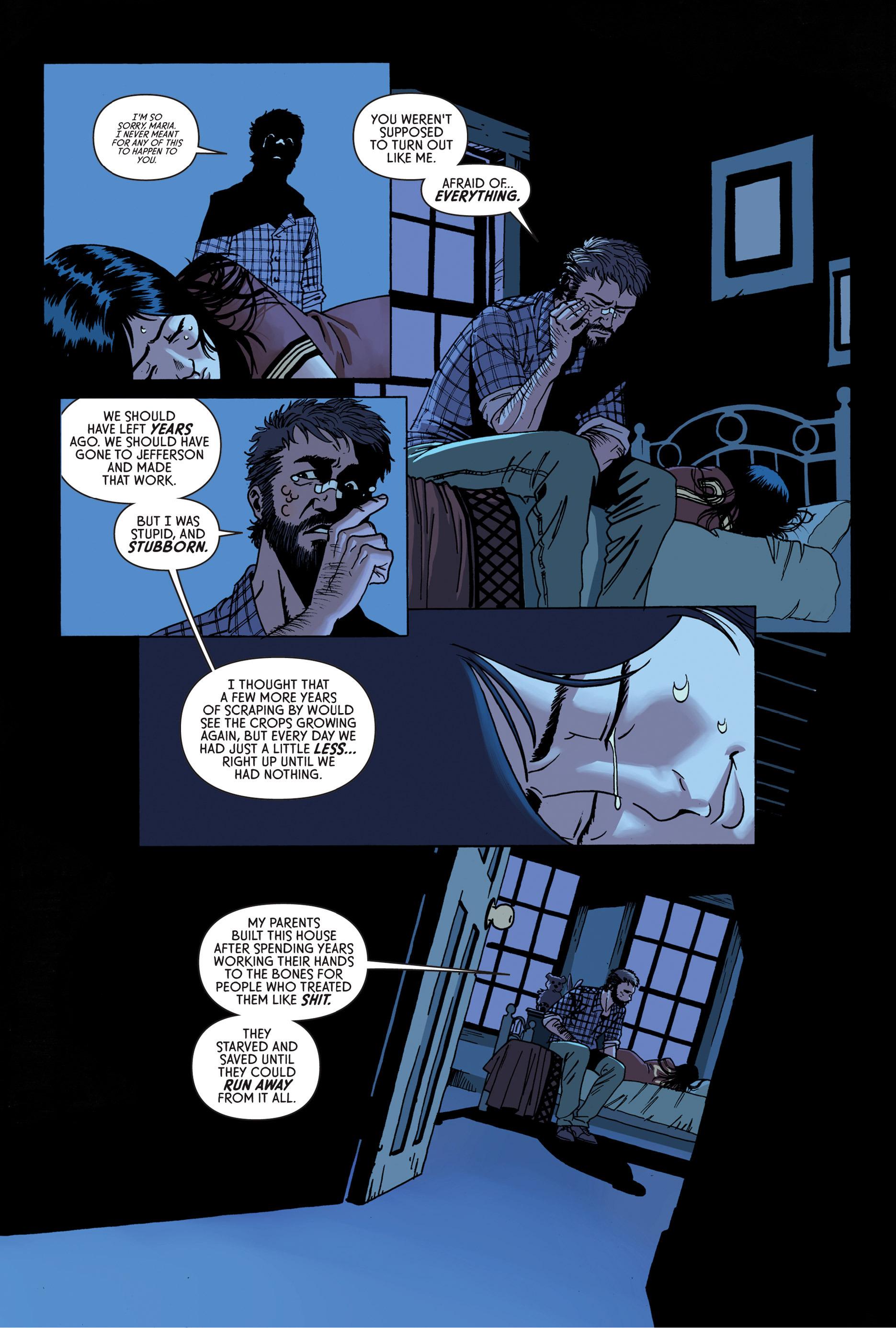 Read online Trespasser comic -  Issue #4 - 4